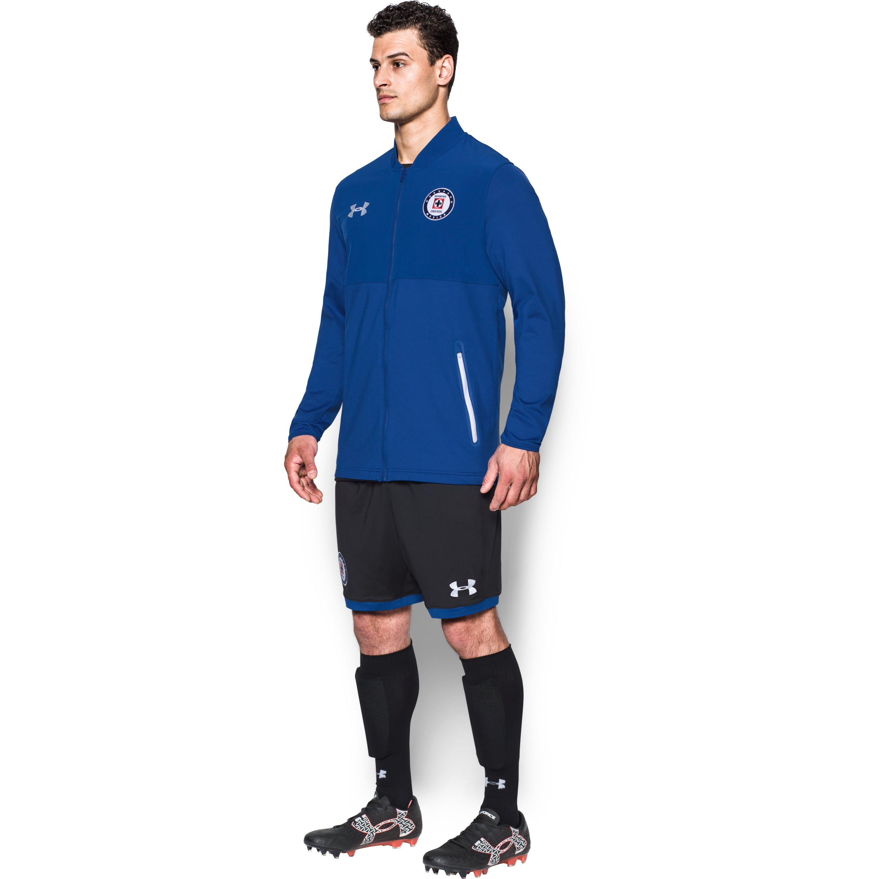 7430d982dbf Under Armour Men s Cruz Azul Ua Storm Stadium Jacket in Blue for Men ...