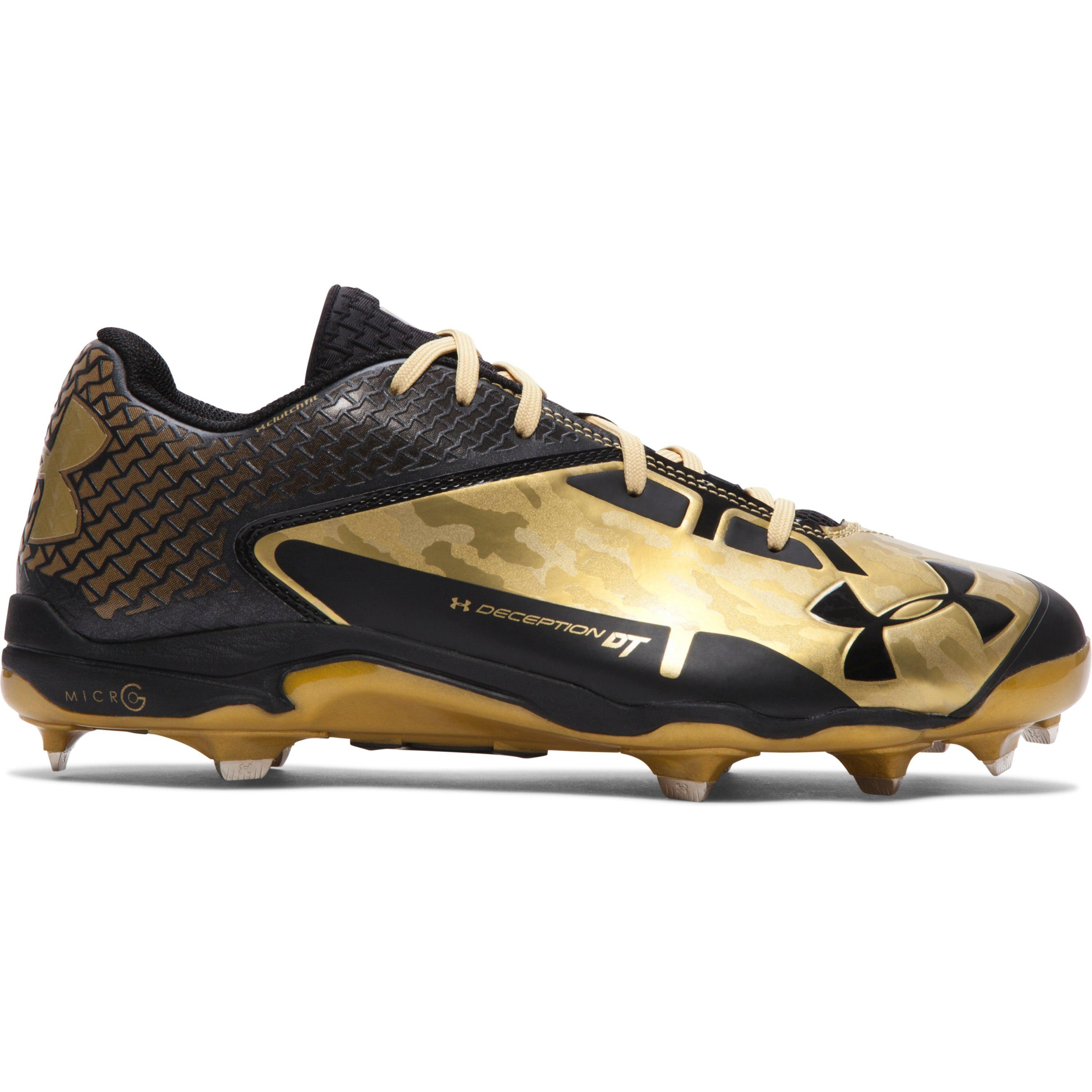 Under Armour Mens Deception Low DiamondTips Baseball Cleat