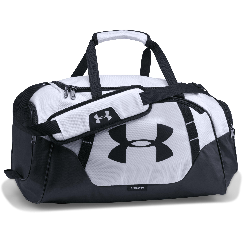 Black Men's Ua Undeniable 3.0 Small Duffle Bag
