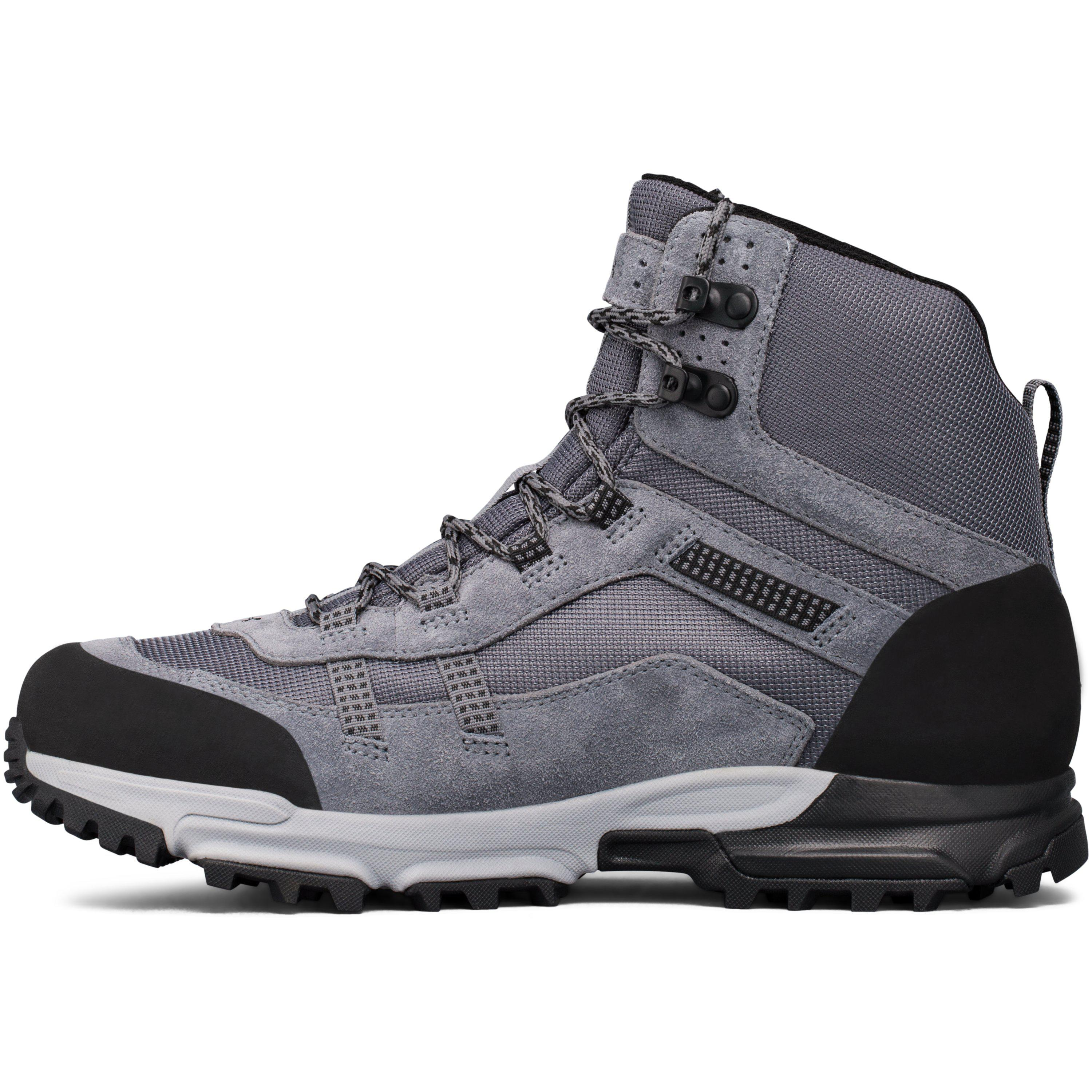 ee8ee3a6c7b Under Armour Gray Men's Ua Post Canyon Mid Waterproof Hiking Boots for men