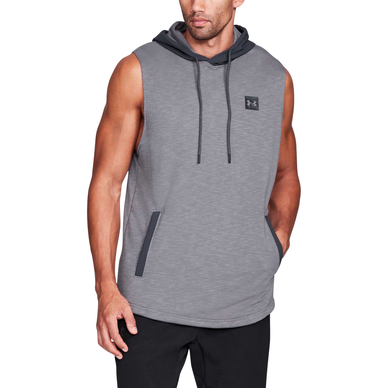 b50e26f30b962e Lyst - Under Armour Men s Ua Sportstyle Sleeveless Hoodie in Gray ...