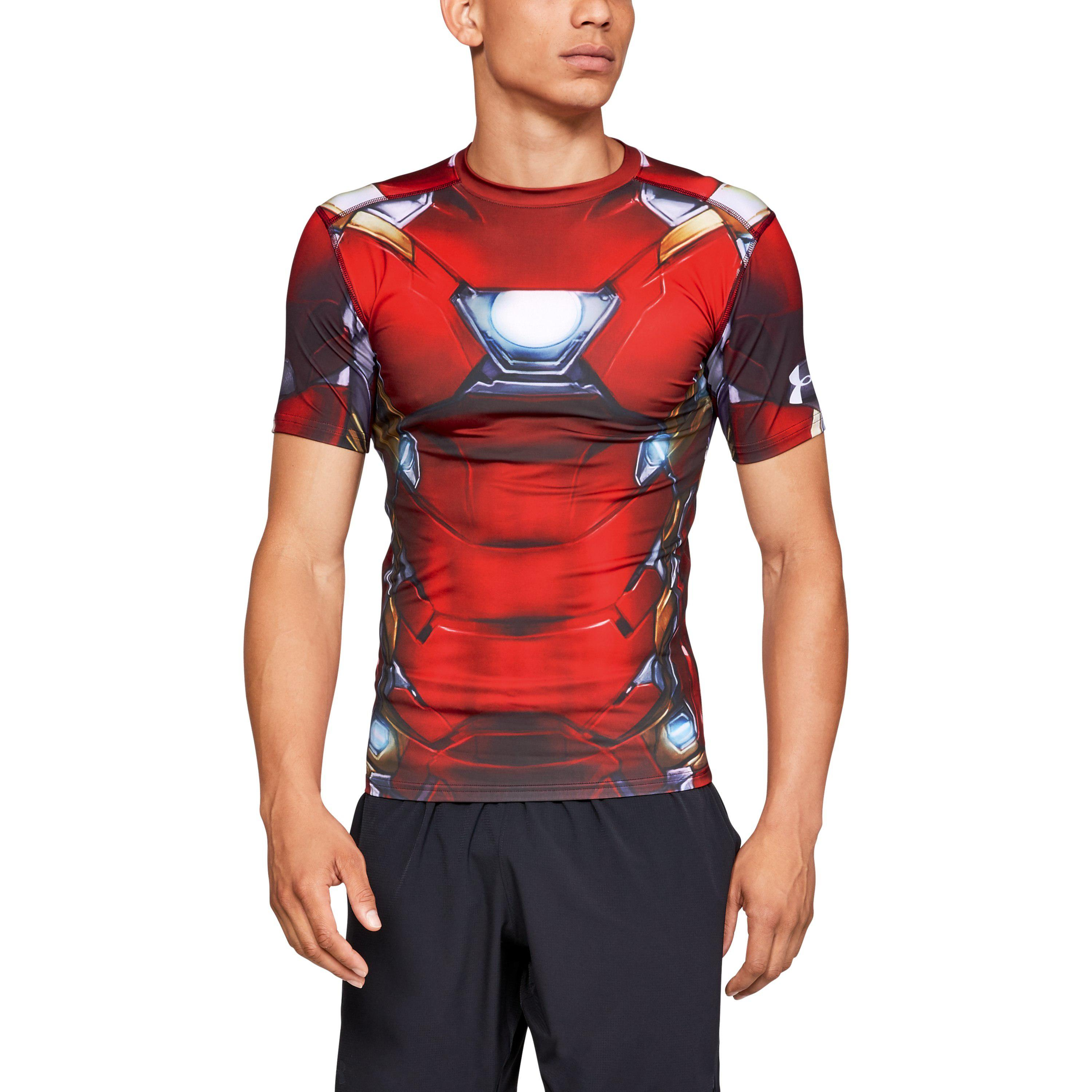f7d6493f Under Armour Mens Alter Ego Compression T Shirt Iron Man ...