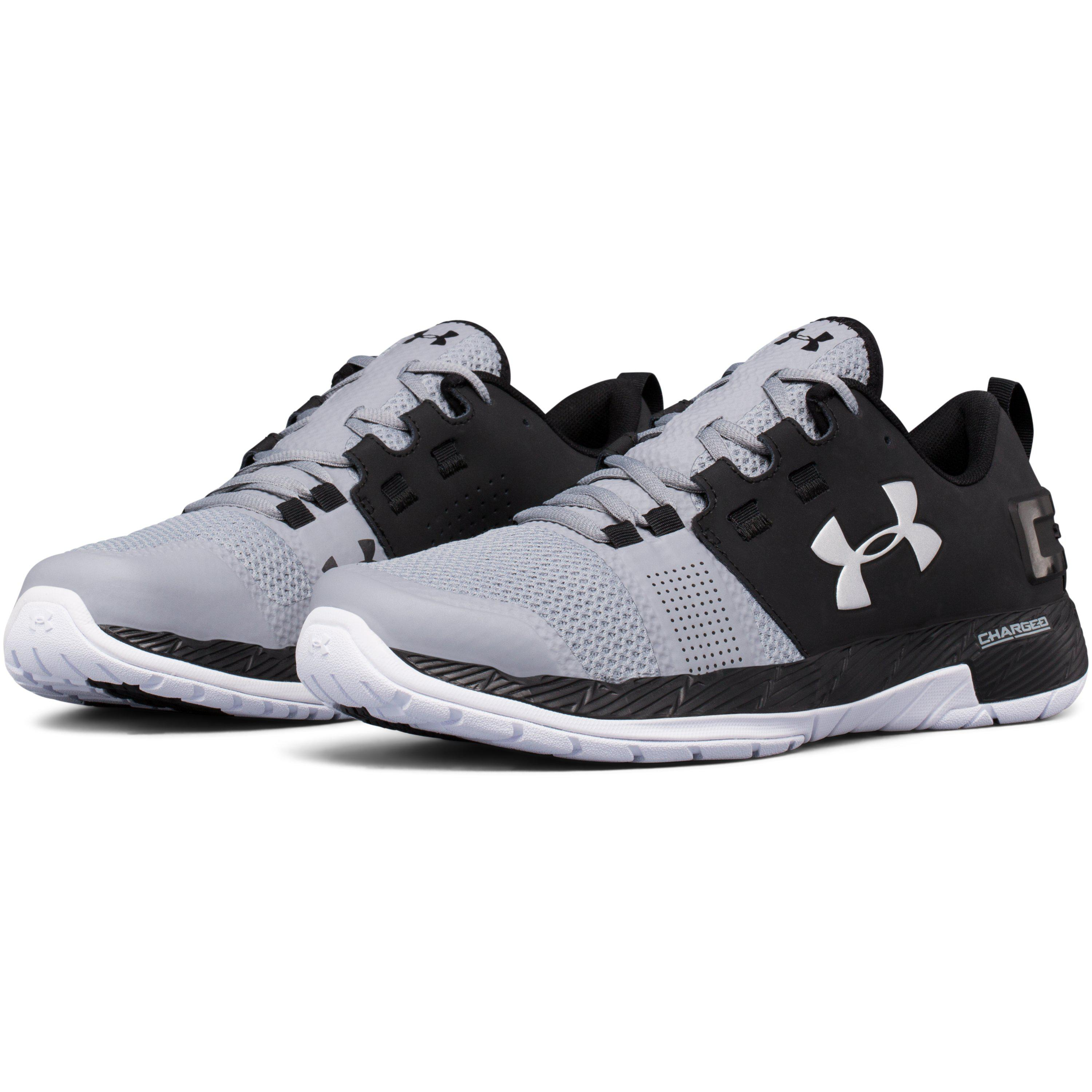 quality design 8d0c1 86b15 Under Armour Black Men's Ua Commit Training Shoes for men