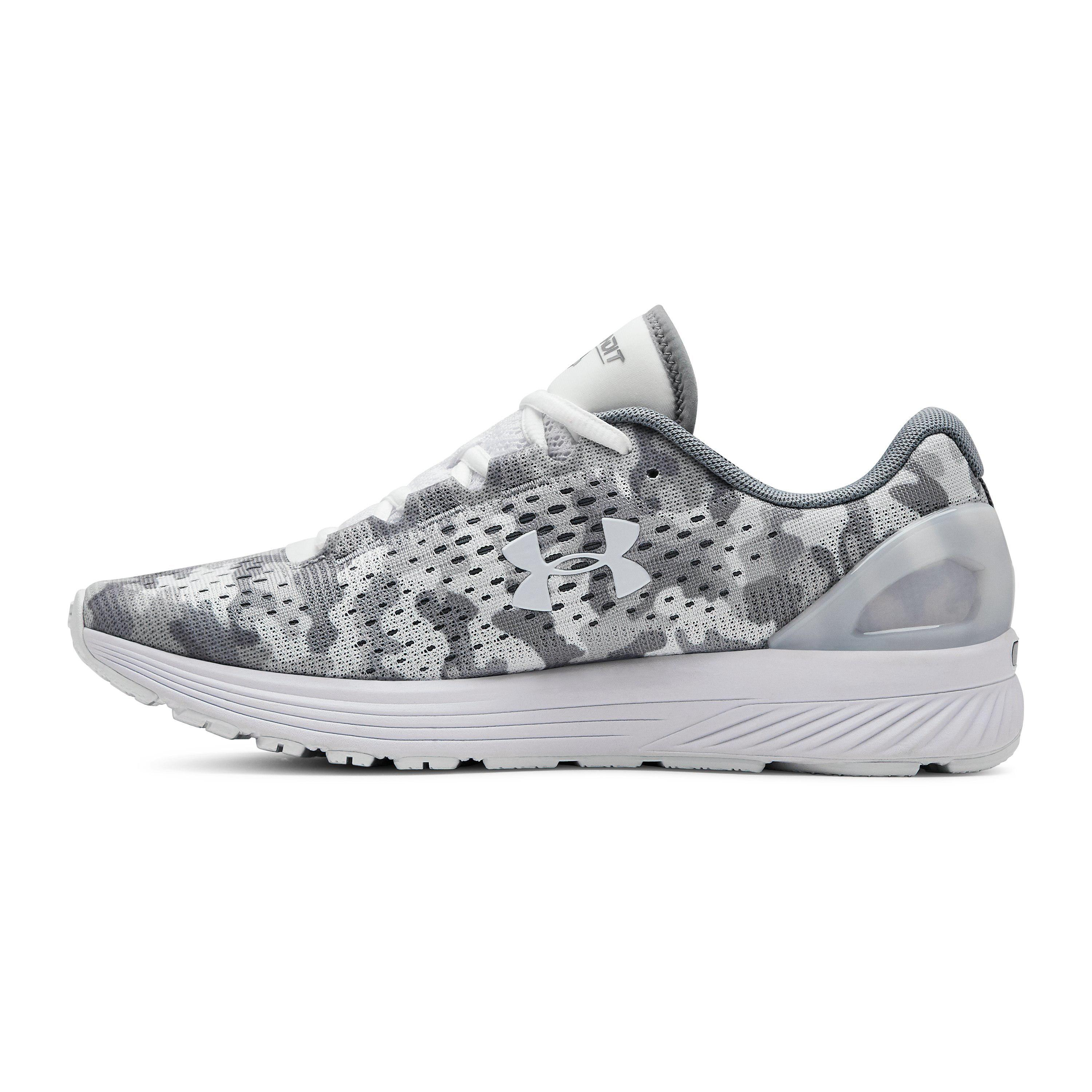 quality design 6890f 7ad01 White Women's Ua Charged Bandit 4 Graphic Running Shoes