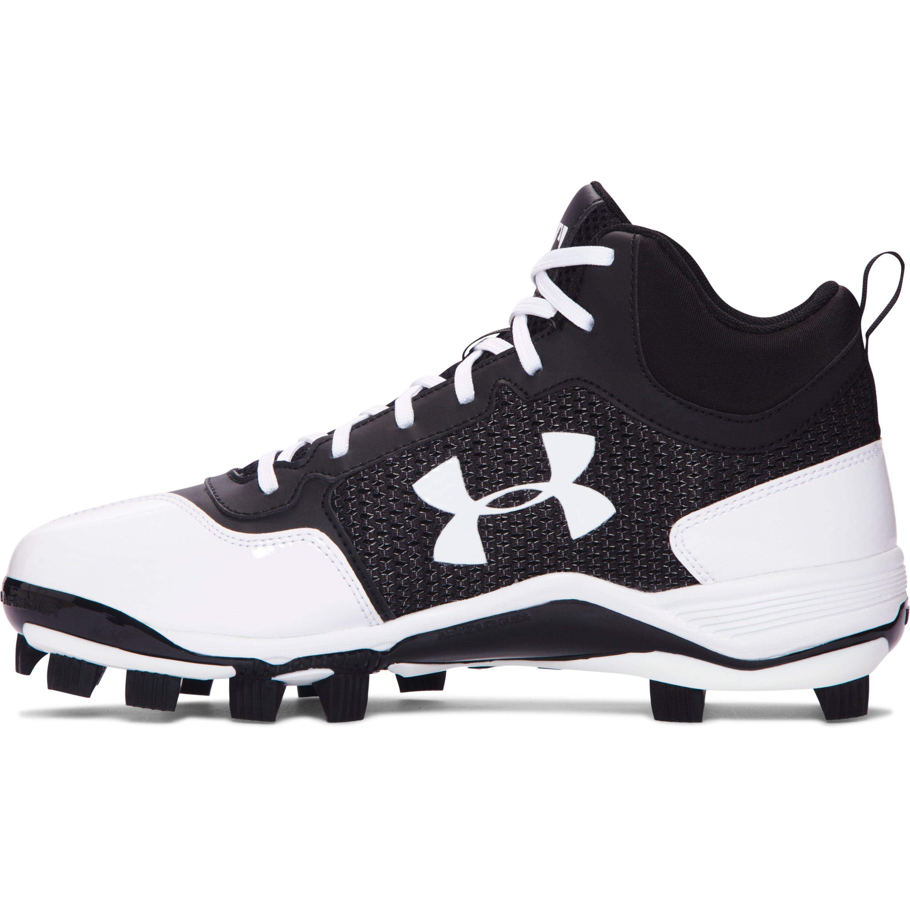 Under Armour Synthetic Men S Ua Heater Mid Tpu Baseball