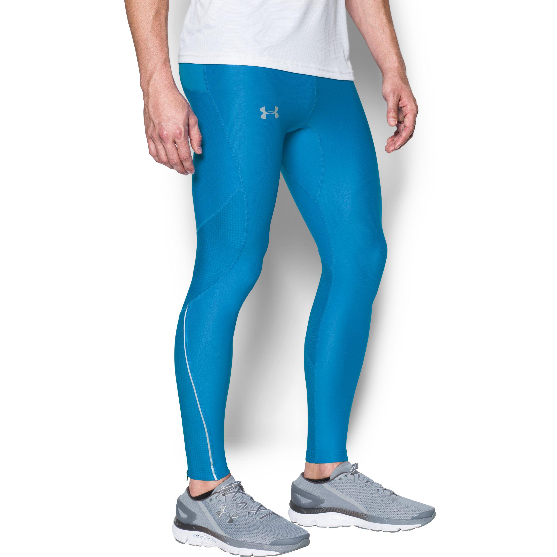 Ups Botánico hacerte molestar  Under Armour Men's Ua No Breaks Printed Run Leggings in Blue for Men - Lyst