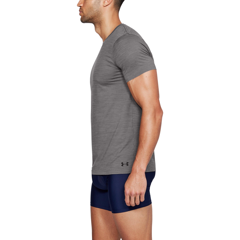 e0cb7f1663 Under Armour Gray Men's Armourvent® Short Sleeve Crew T-shirt for men