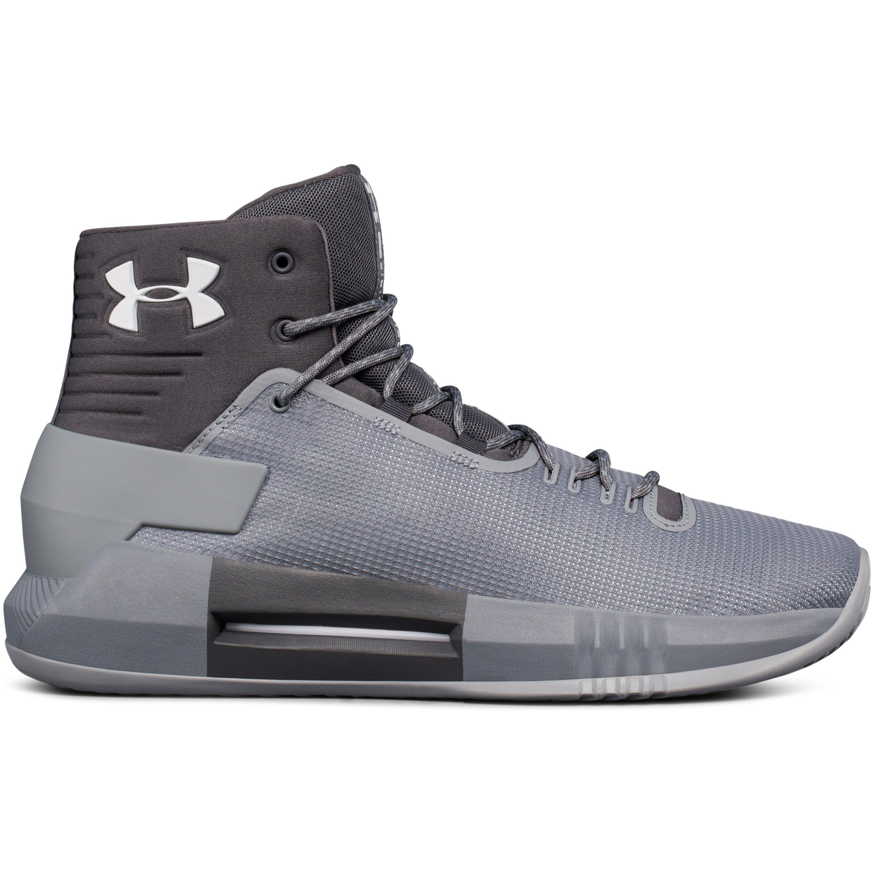 Under Armour Mens Drive 4 Low Basketball Shoe 11.5 M US, Steel//Graphite//Metallic Silver