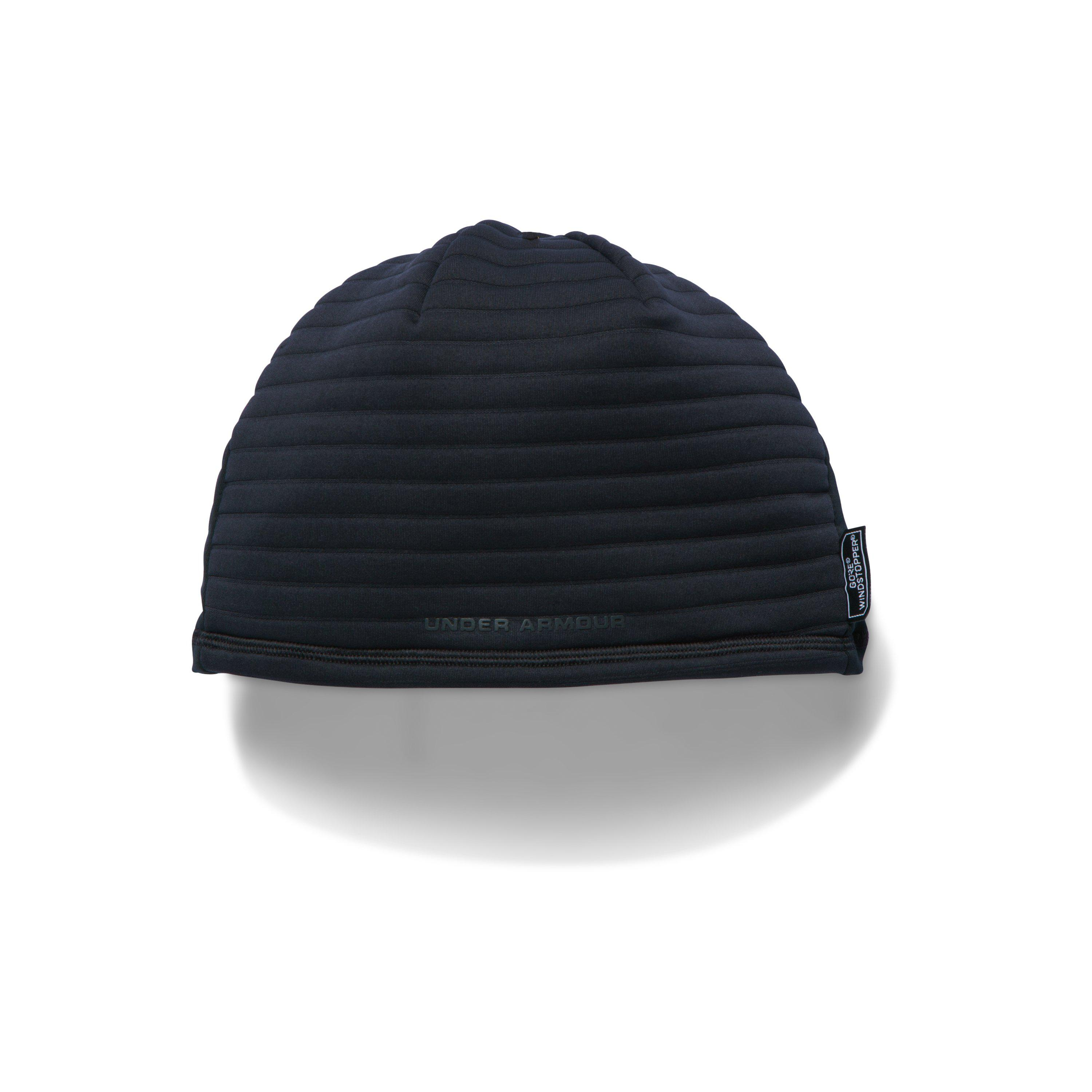... amazing selection 714d6 0fc83 Under Armour Mens Ua No Breaks Gore®  Windstopper® Beanie in ... 050d95a6b96d