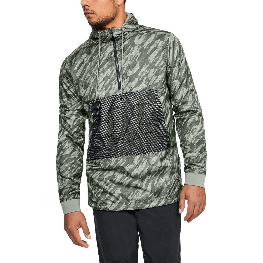 287c04353 Lyst - Under Armour Sportstyle Longline Anorak in Green for Men