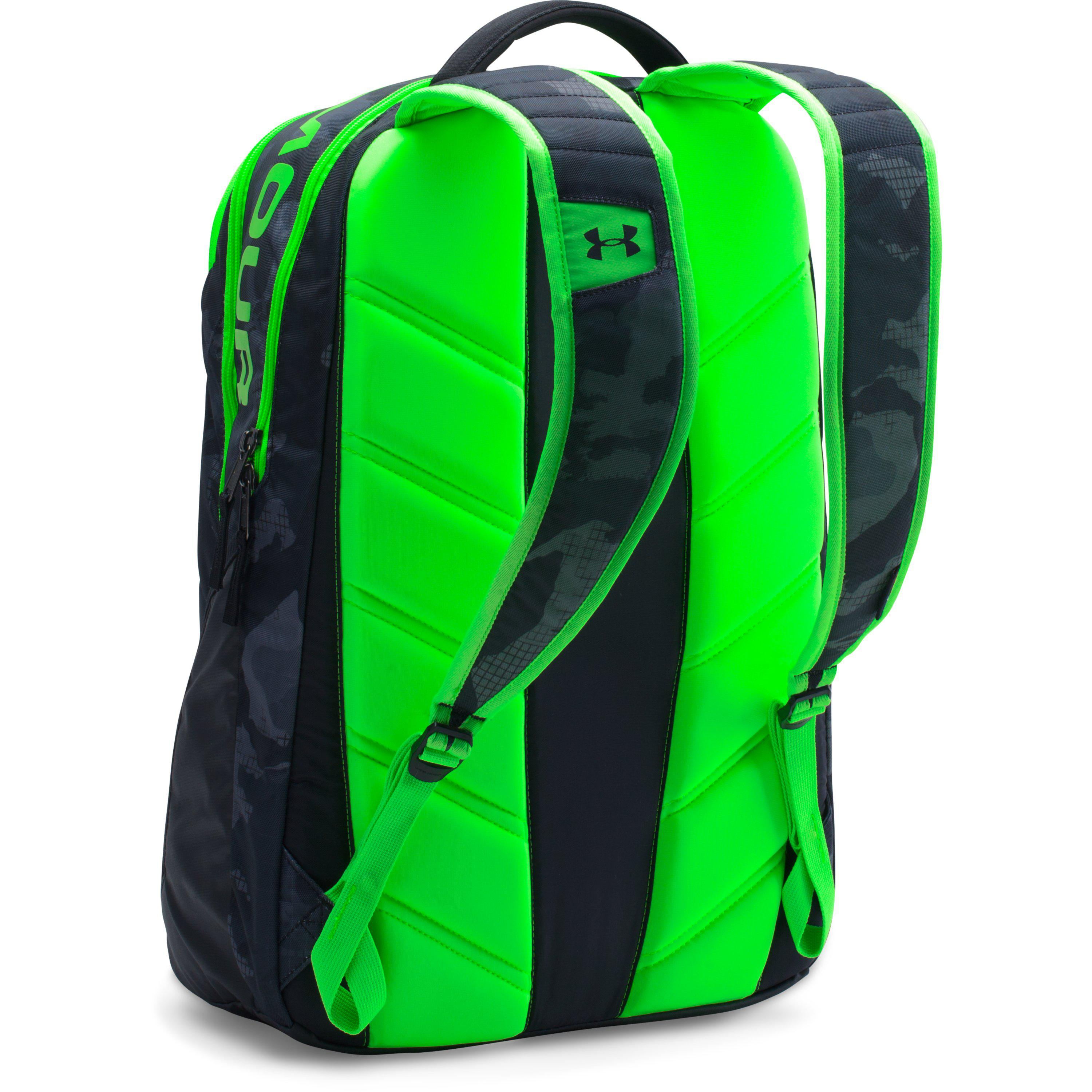 be98153c178f Lyst - Under Armour Ua Storm Big Logo Iv Backpack in Green for Men