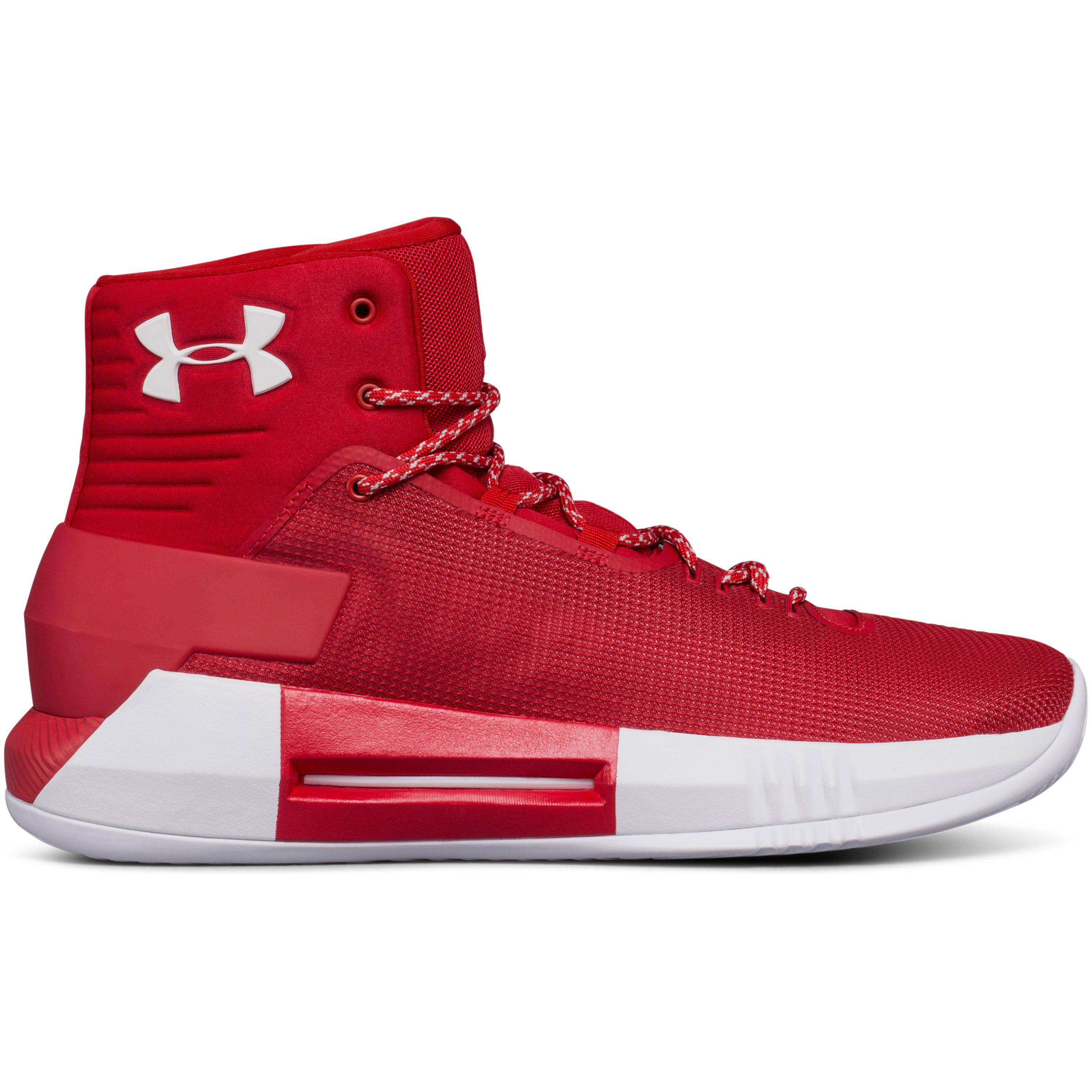 wholesale dealer 02fea a3224 Under Armour Men s Ua Team Drive 4 Basketball Shoes in Red for Men ...