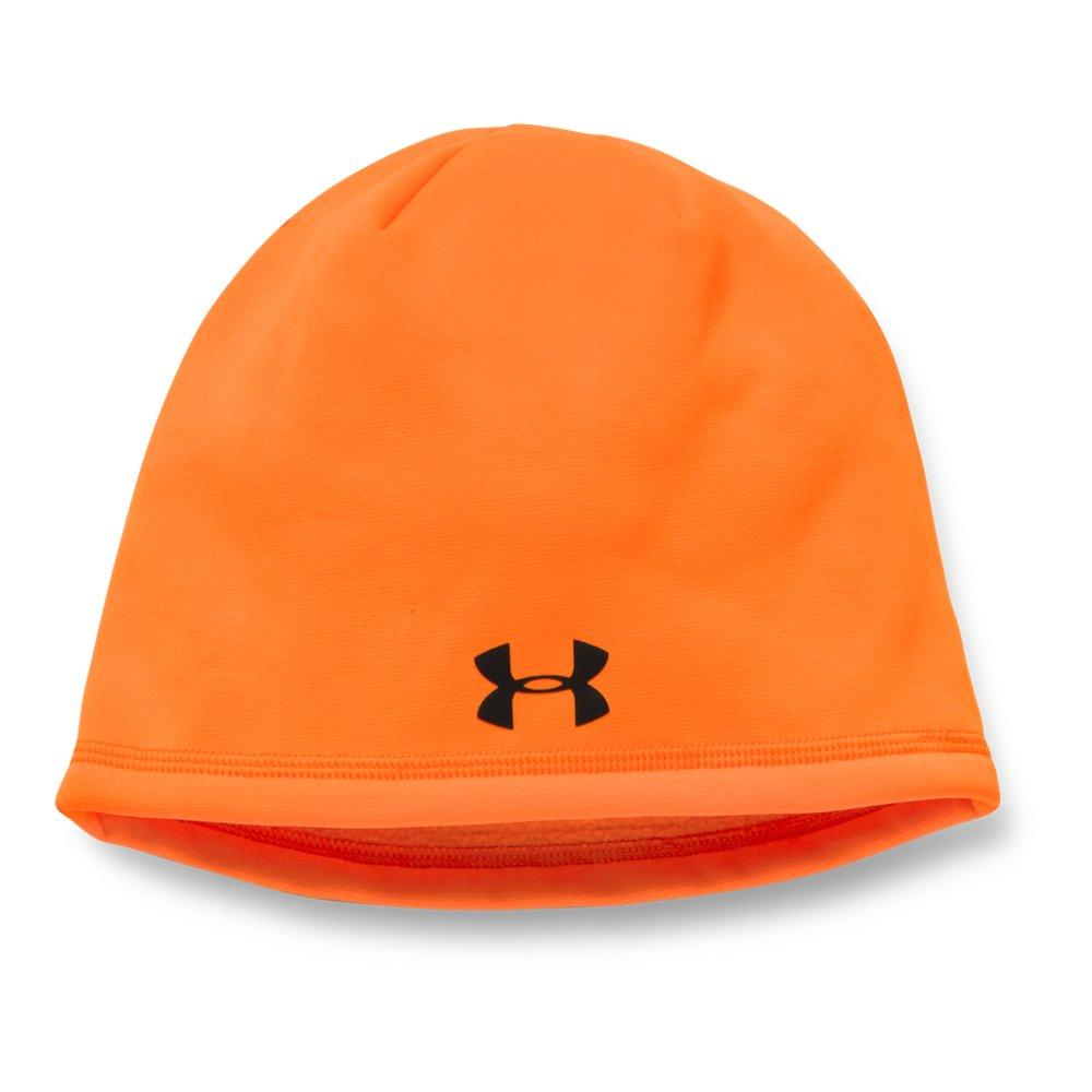d4fc933ce8c Lyst - Under Armour Camo Outdoor Fleece Beanie in Orange for Men ...