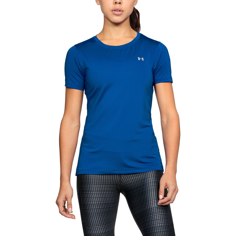 Under Armour Womens Ua HeatGear Armour Short-Sleeve Shirt