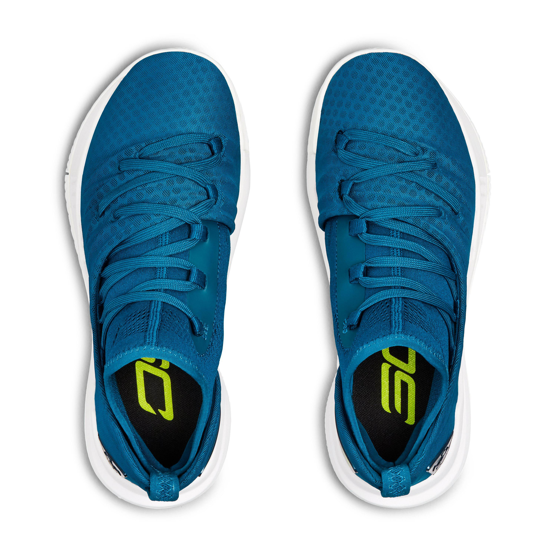 buy popular f49a7 97946 Under Armour Blue Grade School Ua Curry 5 Basketball Shoes for men