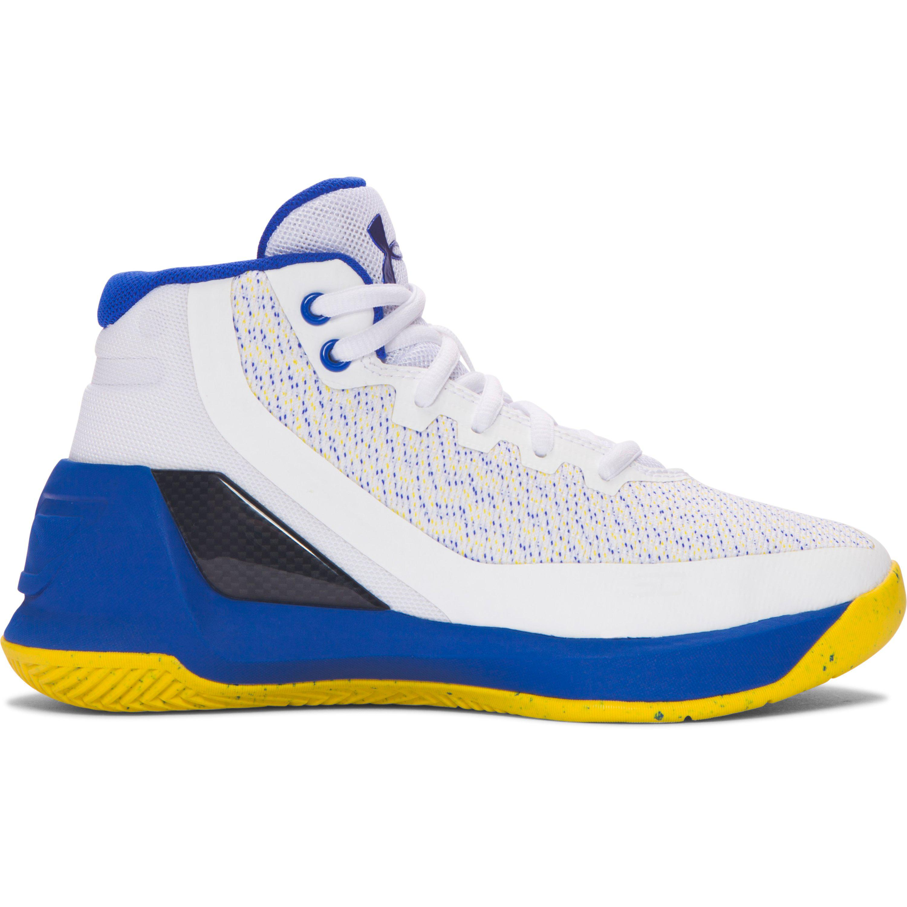 631697f9edf Under Armour Pre-school Ua Curry 3 Basketball Shoes for Men - Lyst