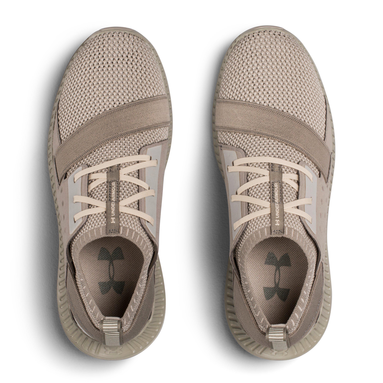 Size 6-10 Tan Beige Taupe Under Armour Threadborne Shift Women/'s Running