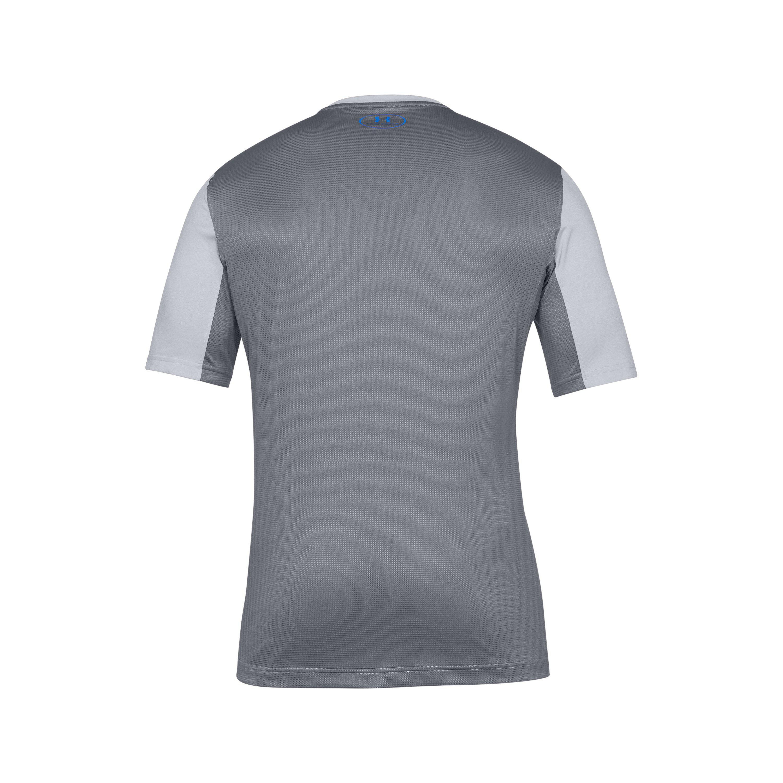 New Black Under Armour UA Men/'s Threadborne Pitch Short Sleeve T-Shirt