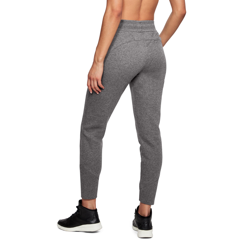 Under Armour UA Femmes Jean Slim Côtelé Cuff Pantalon De Survêtement Sport Gym Pantalon M
