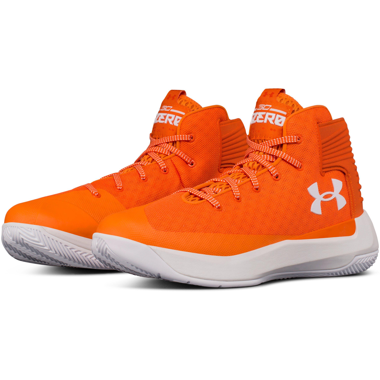 pretty nice f46af f872e Under Armour Orange Men's Ua Curry 3zer0 Basketball Shoes for men