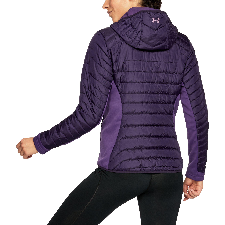 d78ebeac Under Armour Purple Women's Coldgear® Reactor Hybrid Jacket