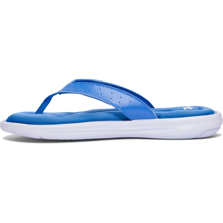 fb83ae9e5ce4 Lyst - Under Armour Women s Ua Marbella V Sandals in Blue