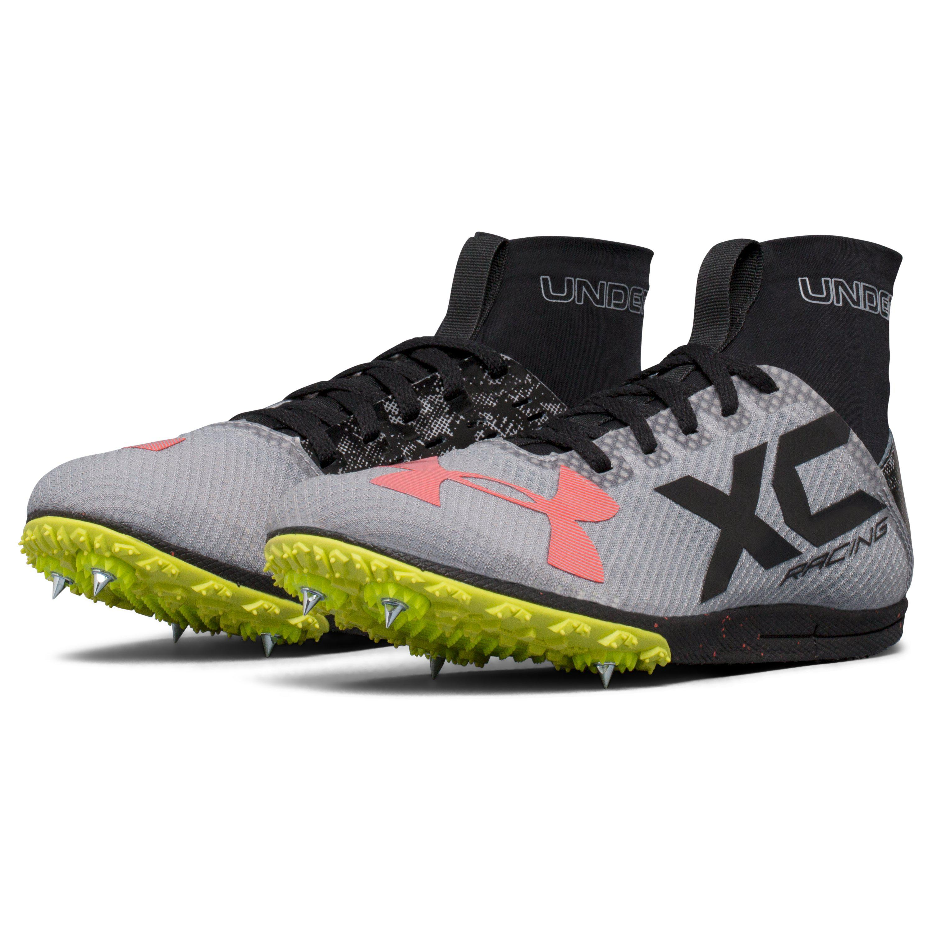a862d52586 Under Armour Black Bandit Xc Spike Running Shoes Size for men