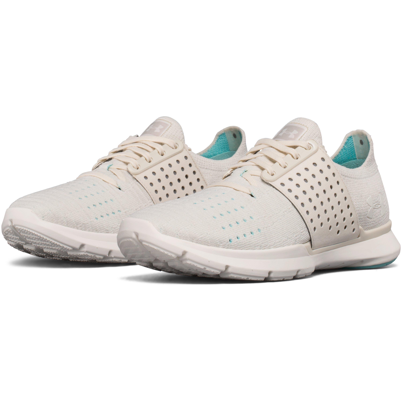 quality design 35447 43220 Under Armour White Women's Ua Threadborne Slingwrap Running Shoes