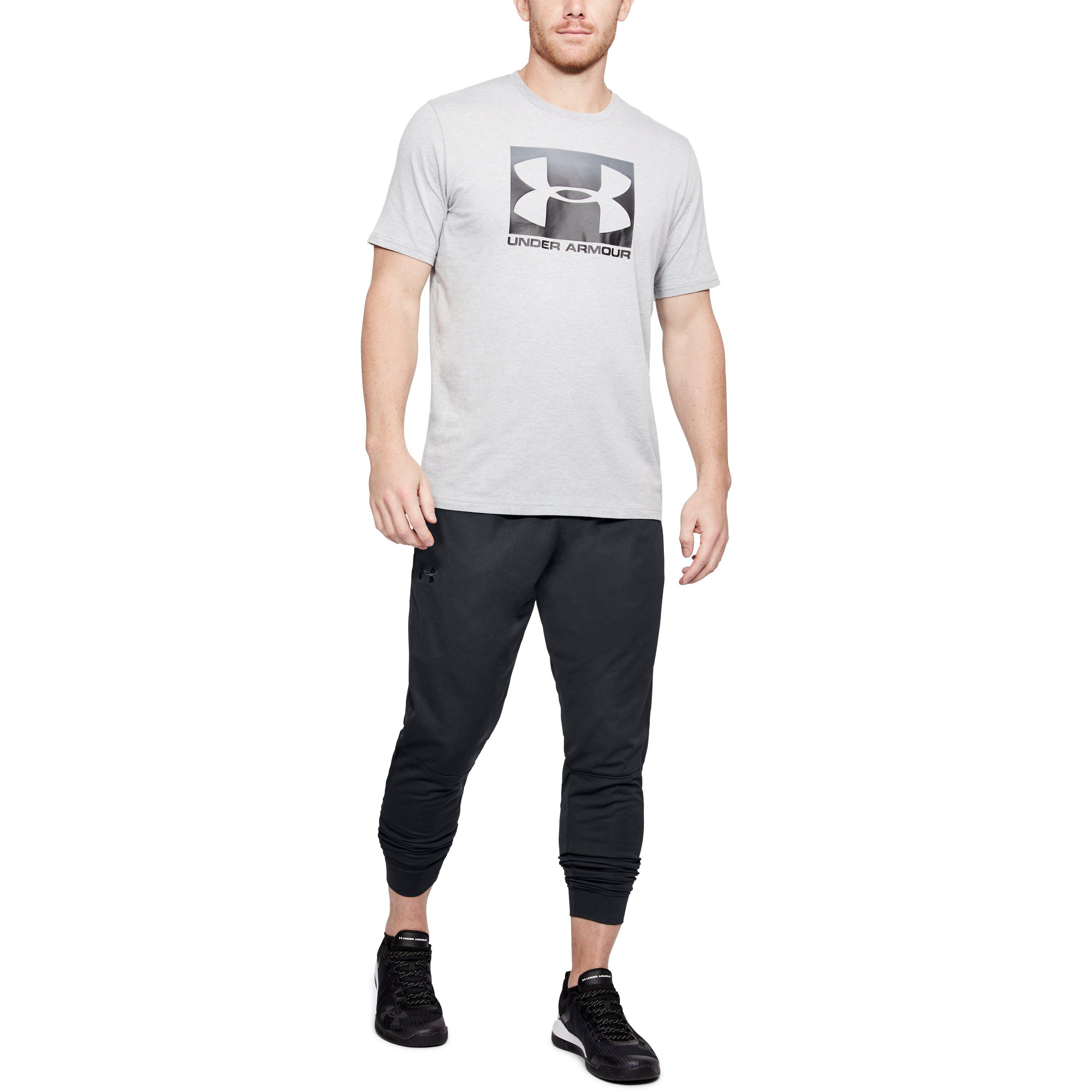 9a2b1d8882 Under Armour Black Men's Ua Sportstyle Pique Joggers for men