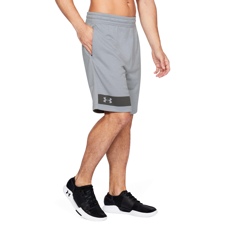 7b2182d966 Under Armour Gray Men's Ua Mk1 Terry Shorts for men
