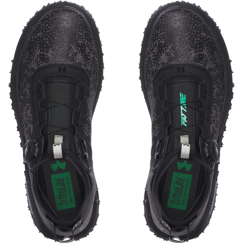 superior quality 6fc67 d1385 Under Armour Black Men's Ua Fat Tire 2 Running Shoes for men