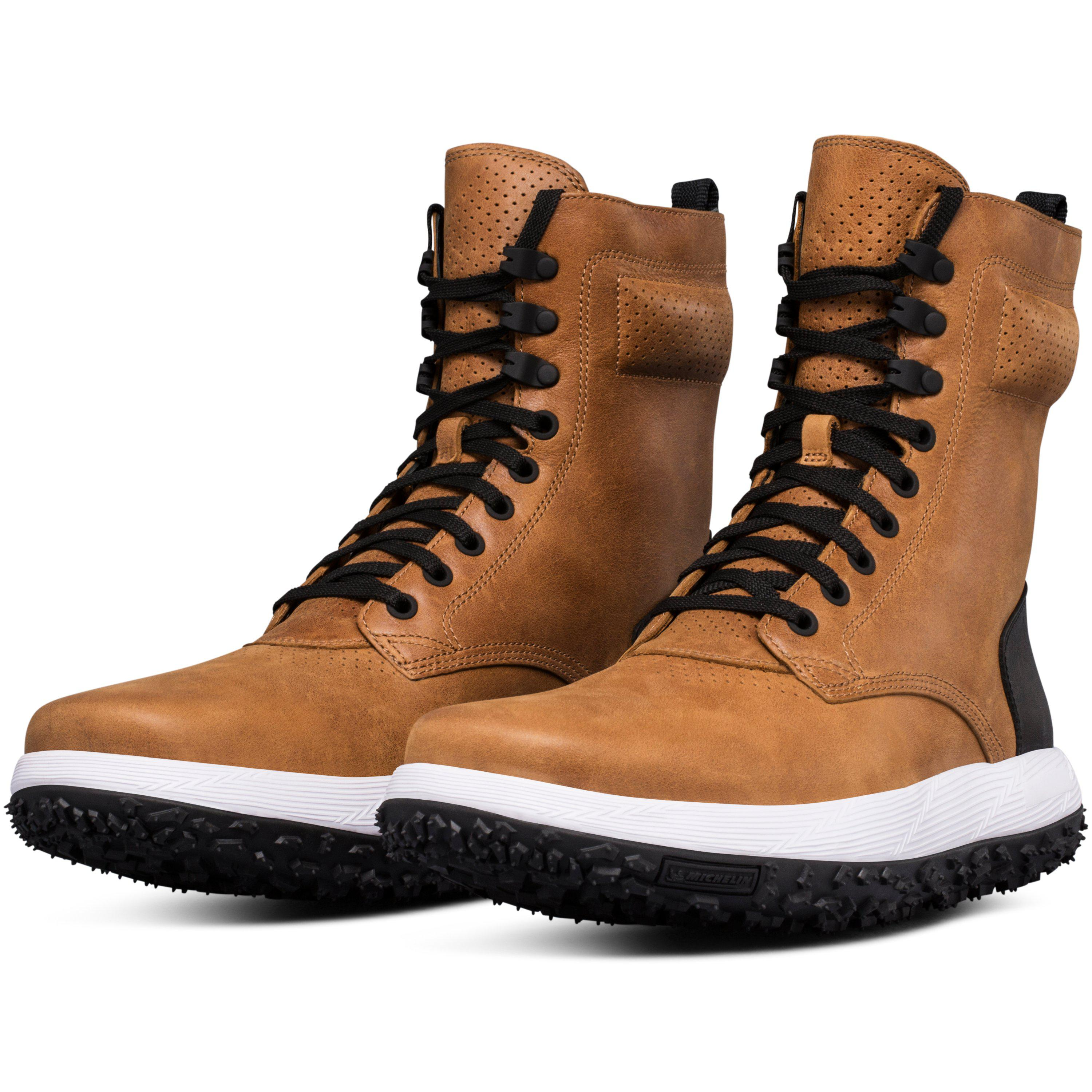 check out f4e11 a16fc Under Armour Brown Men's Uas Rlt Fat Tire Sherpa Boots for men
