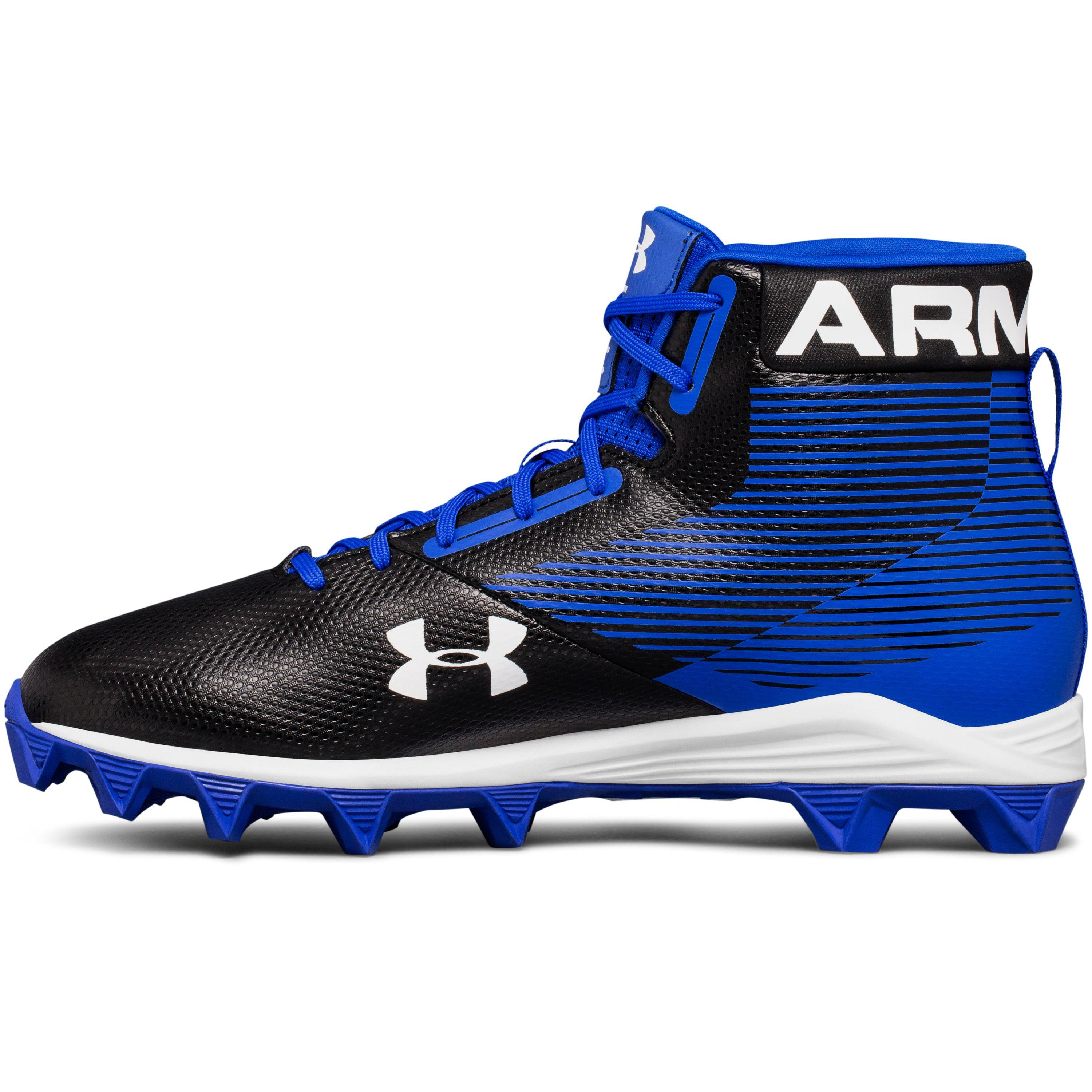 7982a713b27 Under Armour Men s Ua Hammertm Mid Rubber Molded Football Cleats in ...