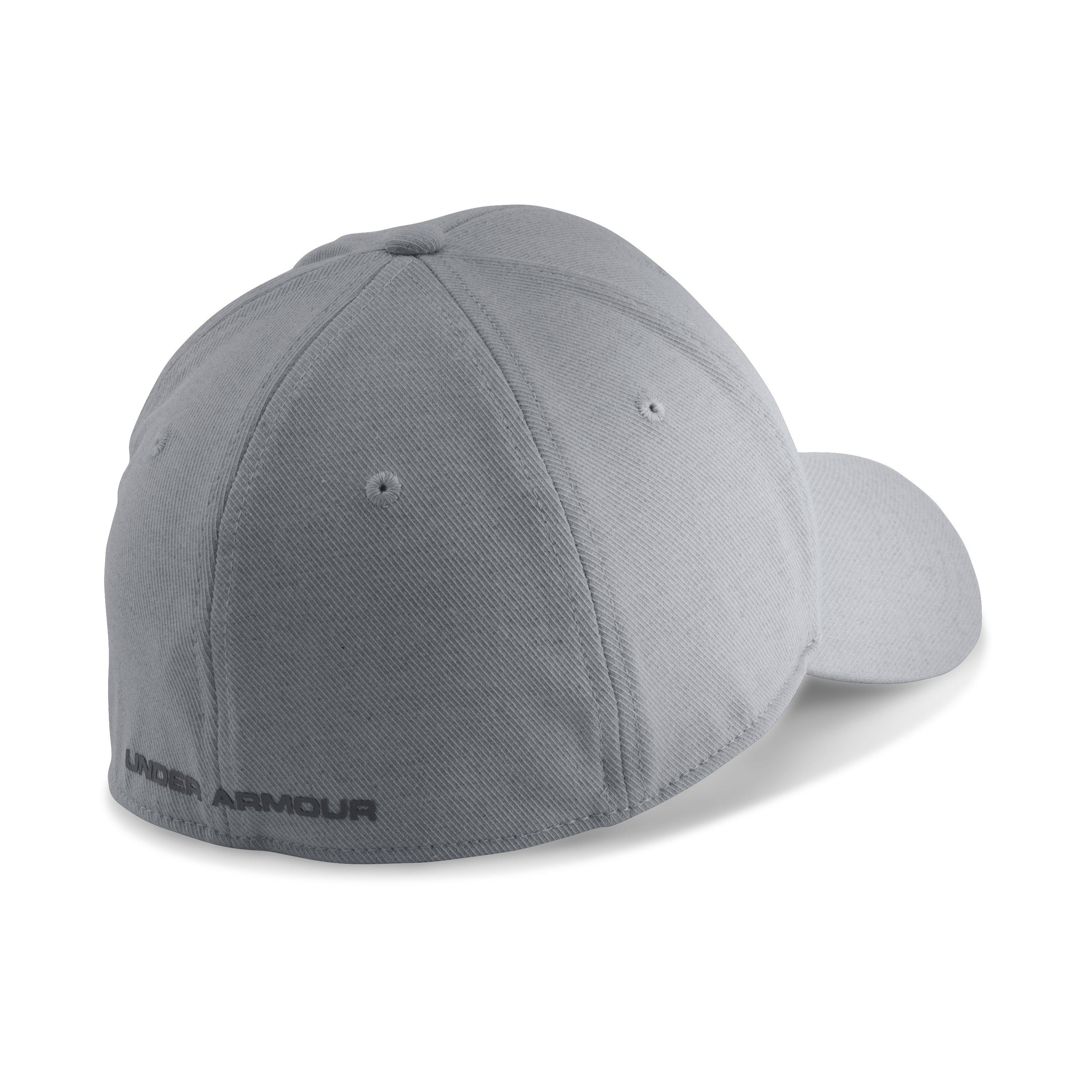 60f23fc378086 Under Armour Men s Ua Wool Low Crown Cap in Gray for Men - Lyst