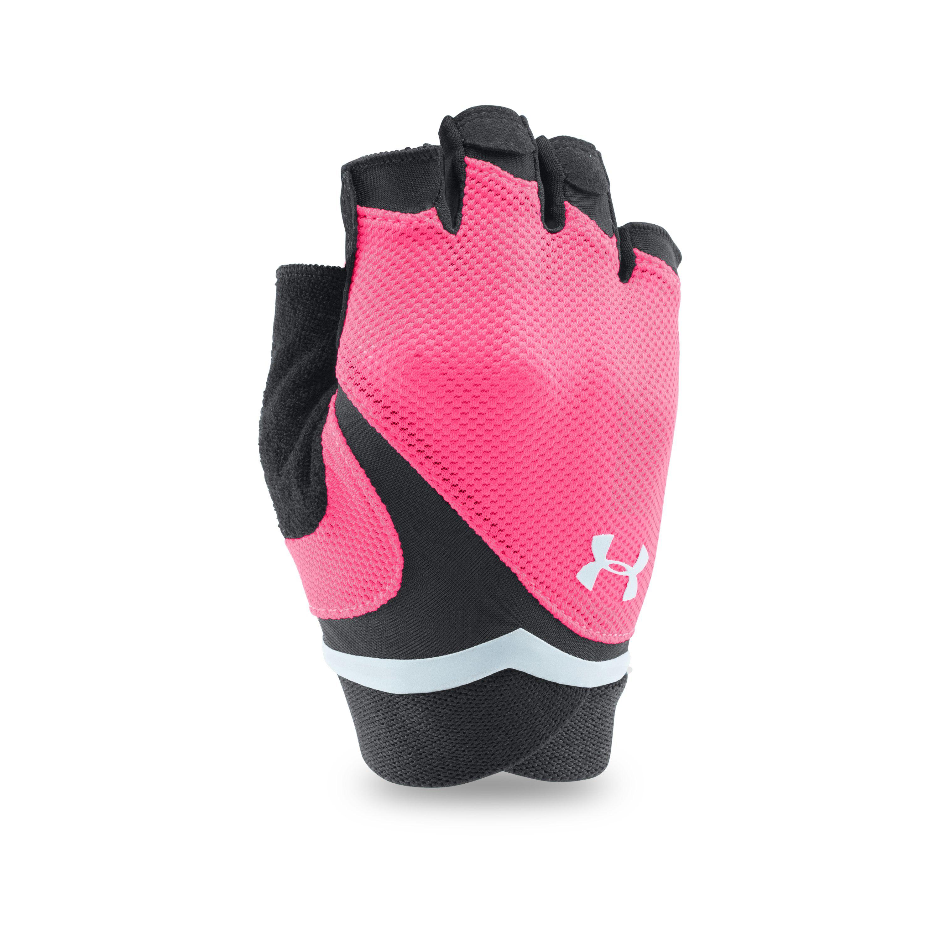 Lyst - Under Armour Women s Ua Flux Gloves in Red c8dcbeb21d