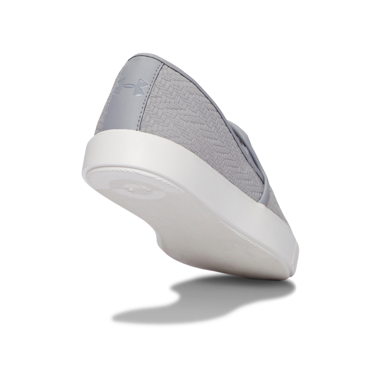 c64e57e67f Under Armour White Women's Ua Dj Suede Sportstyle Shoes