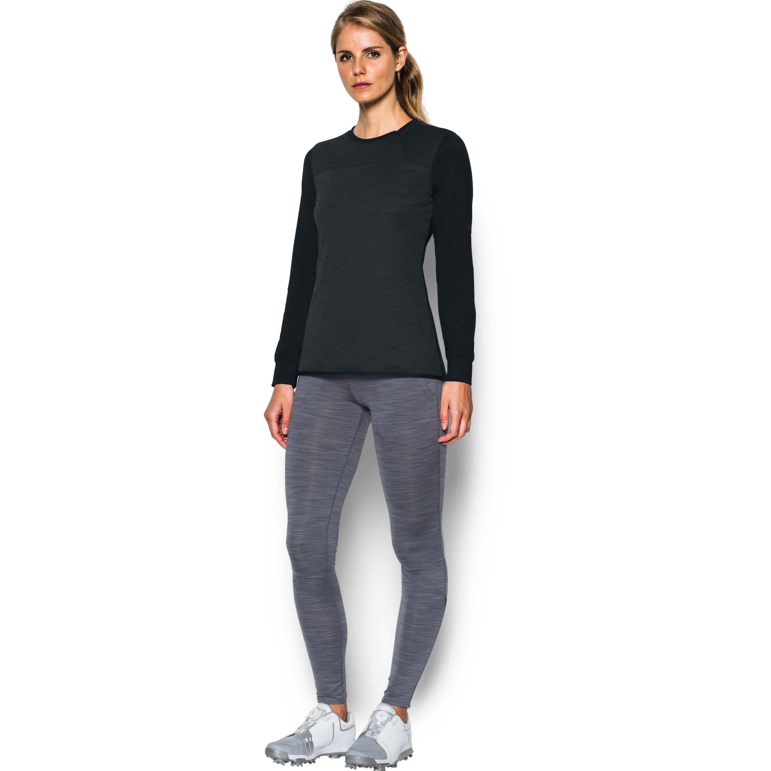 e0ebe3a88 Under Armour Women's Coldgear® Reactor 1⁄2 Zip Hybrid Long Sleeve ...