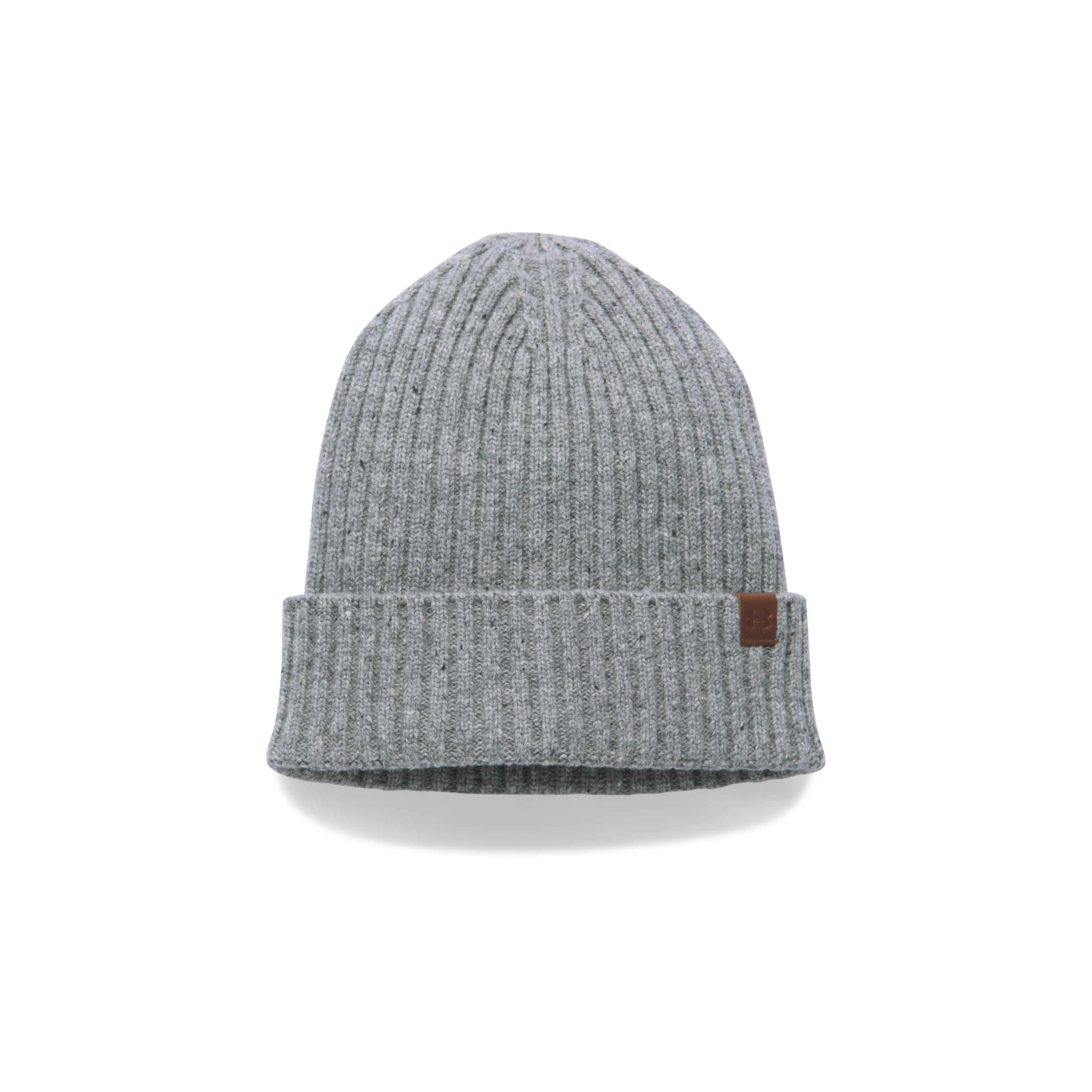 4443ef8cfa6fa Lyst - Under Armour Outdoor Performance Wool Beanie in Gray for Men