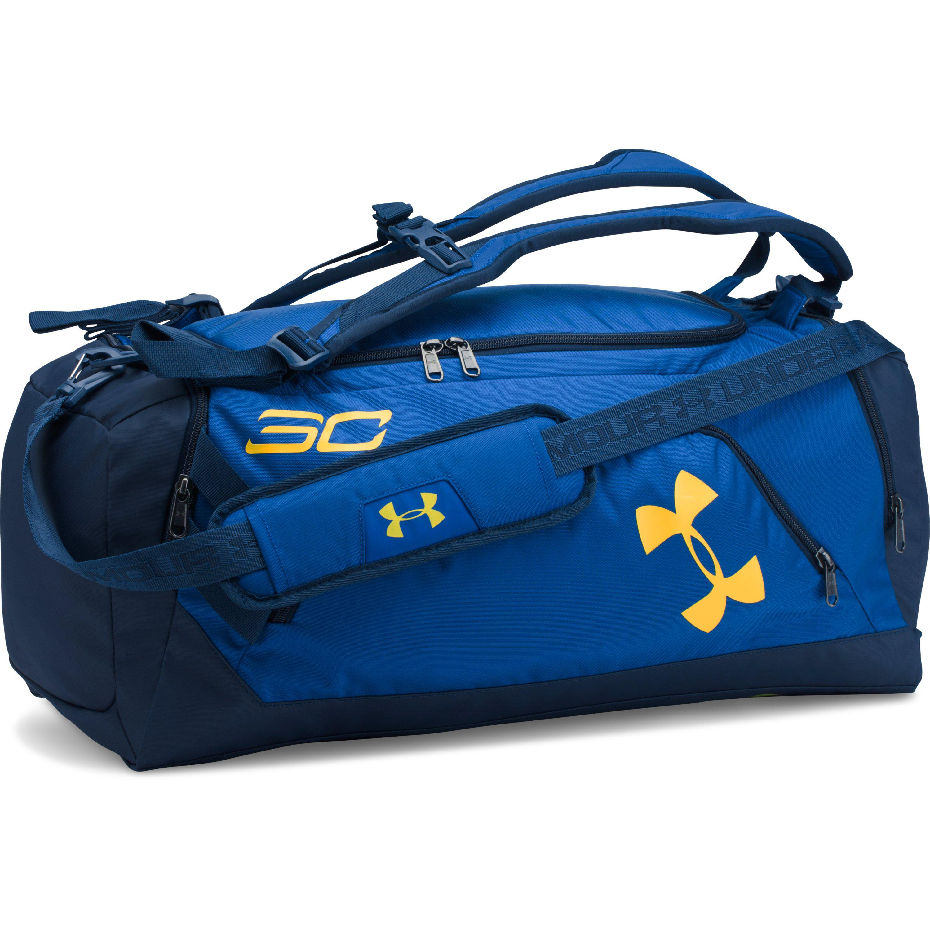 d771481b10af Lyst - Under Armour Sc30 Storm Contain Duffle in Blue for Men