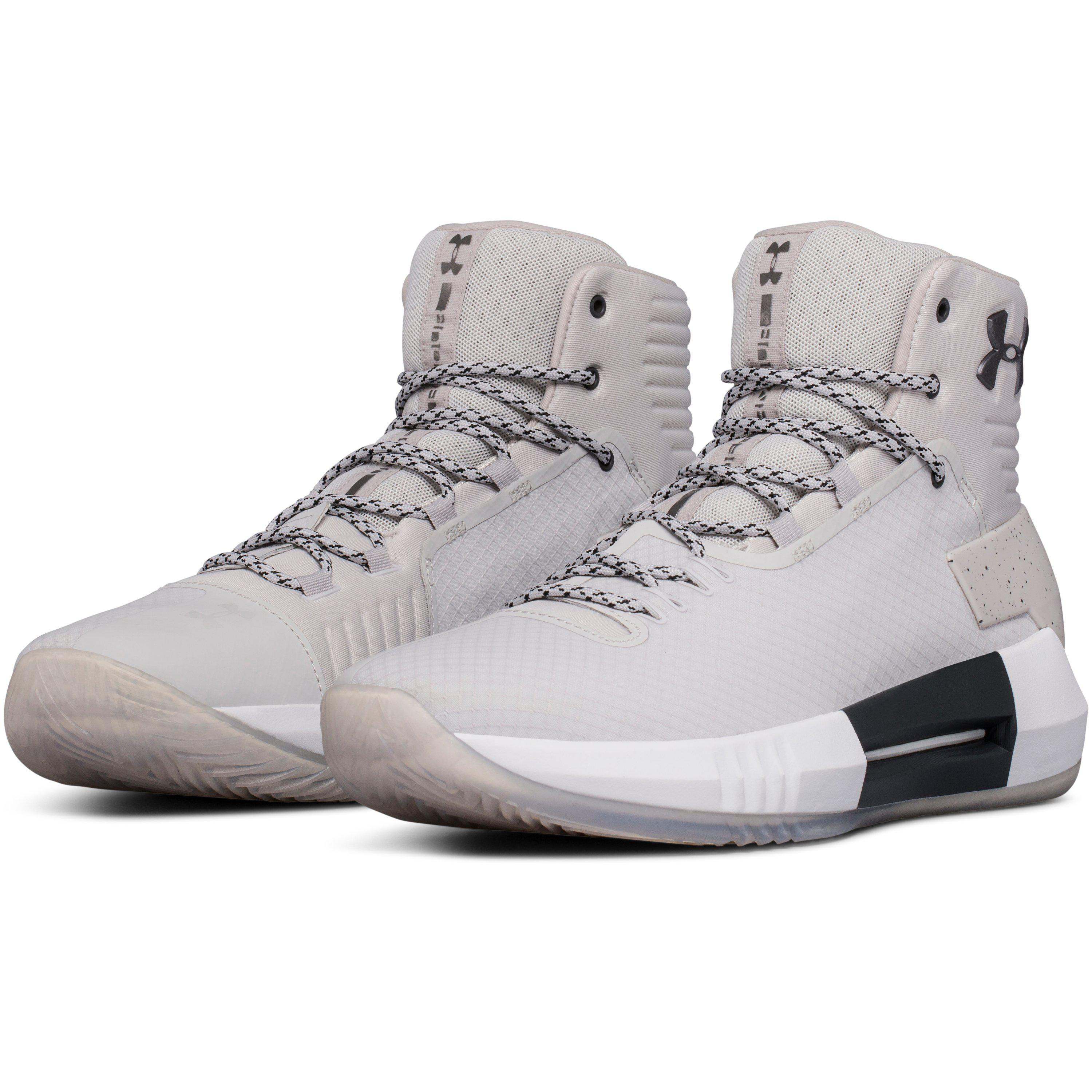 c509b317d89 ... clearance lyst under armour mens ua drive 4 x basketball shoes in gray  for men 88464