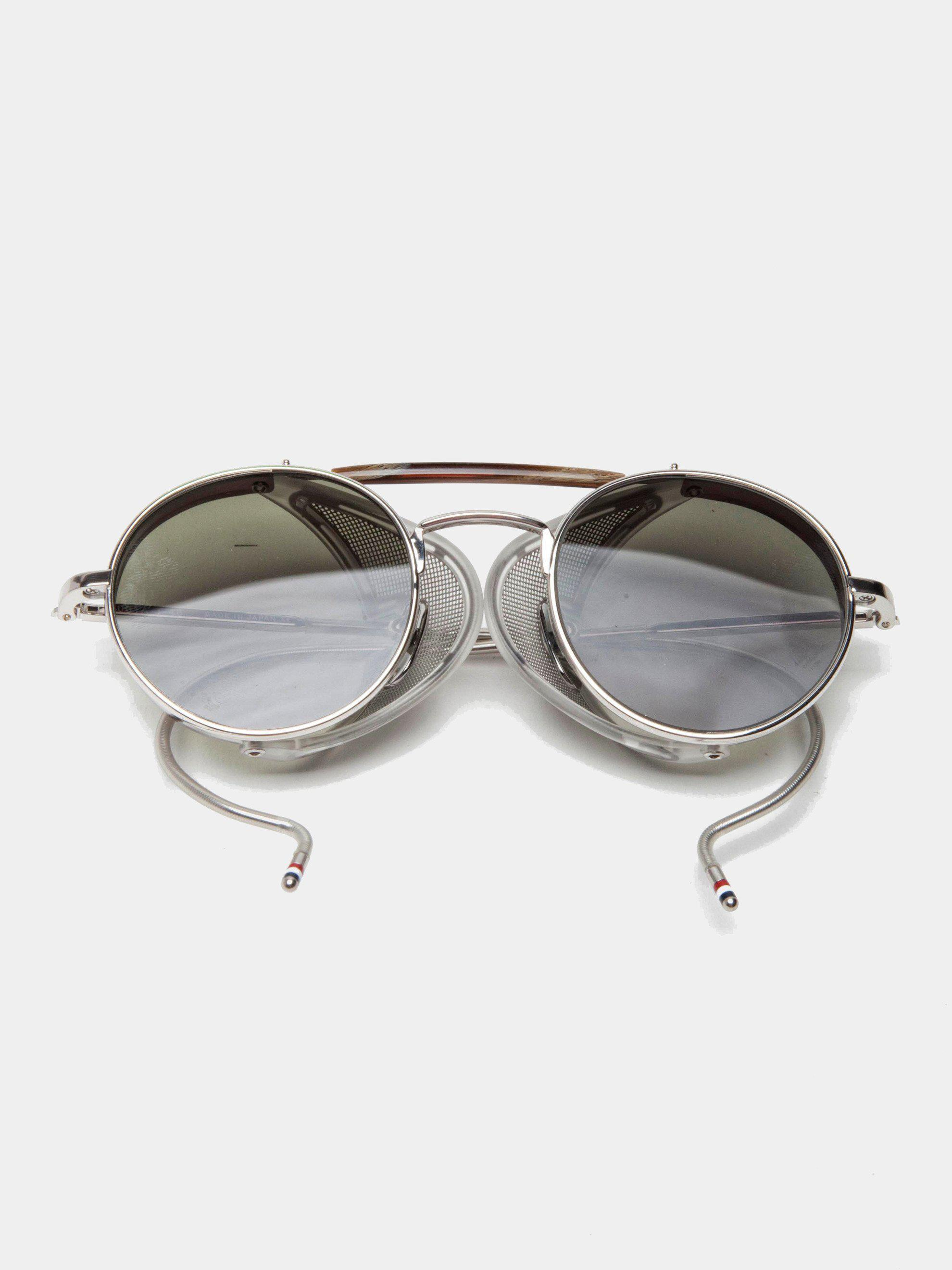 197ade64802 Lyst - Thom Browne Tb-001 (shiny Silver g-15) in Metallic for Men