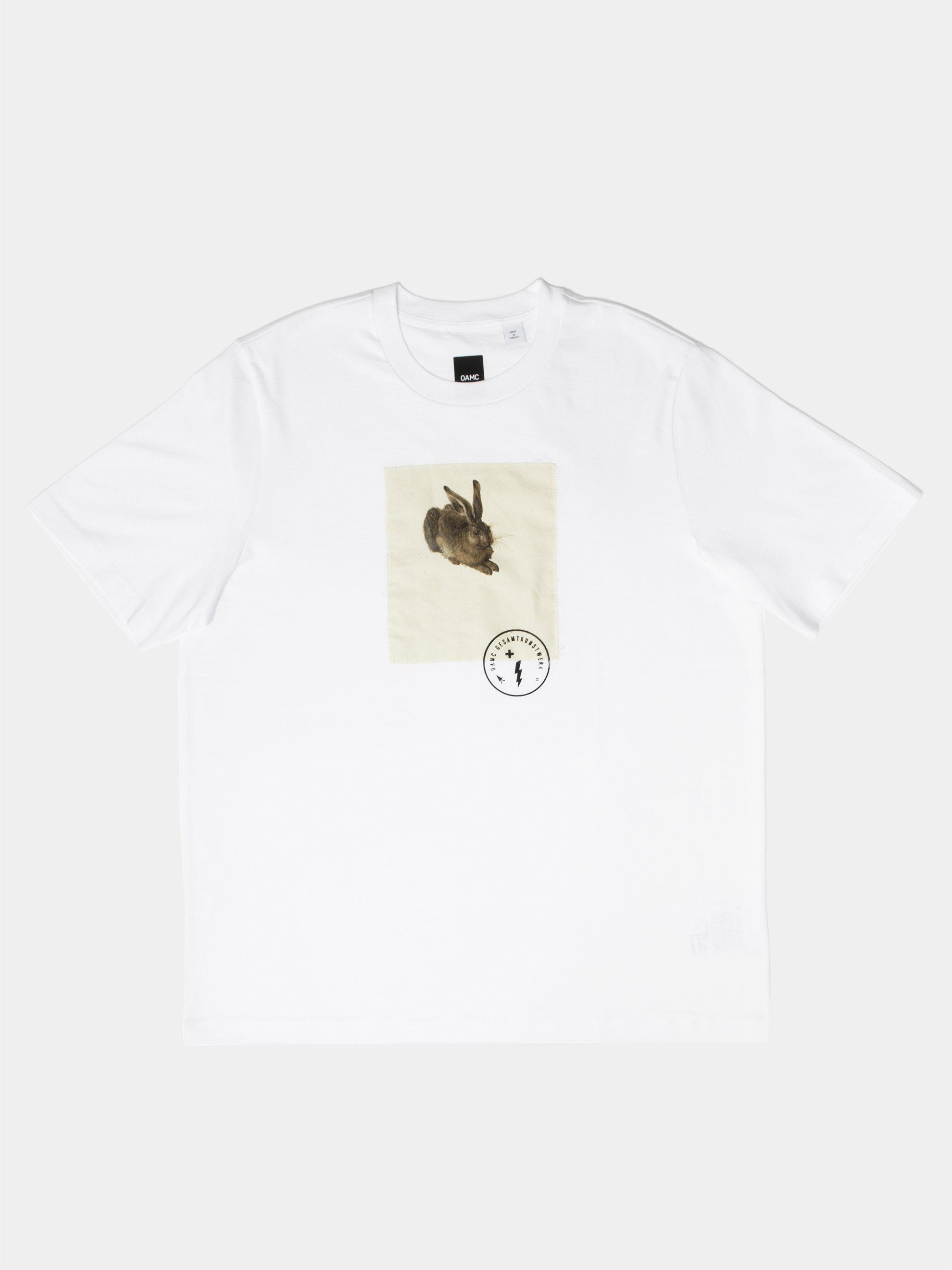 baeaaee3692ed OAMC - White Hare T-shirt for Men - Lyst. View fullscreen