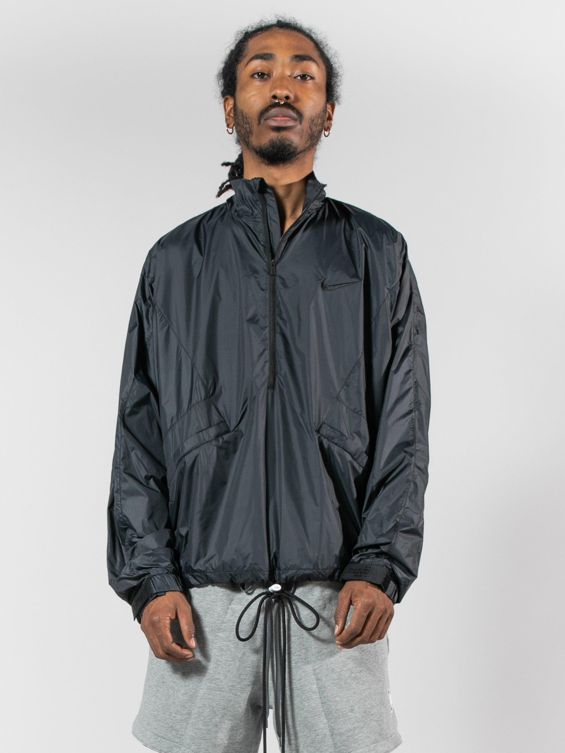 e9ef7a9f80c8 Lyst - Nike X Fear Of God Half-zip Jacket in Black for Men