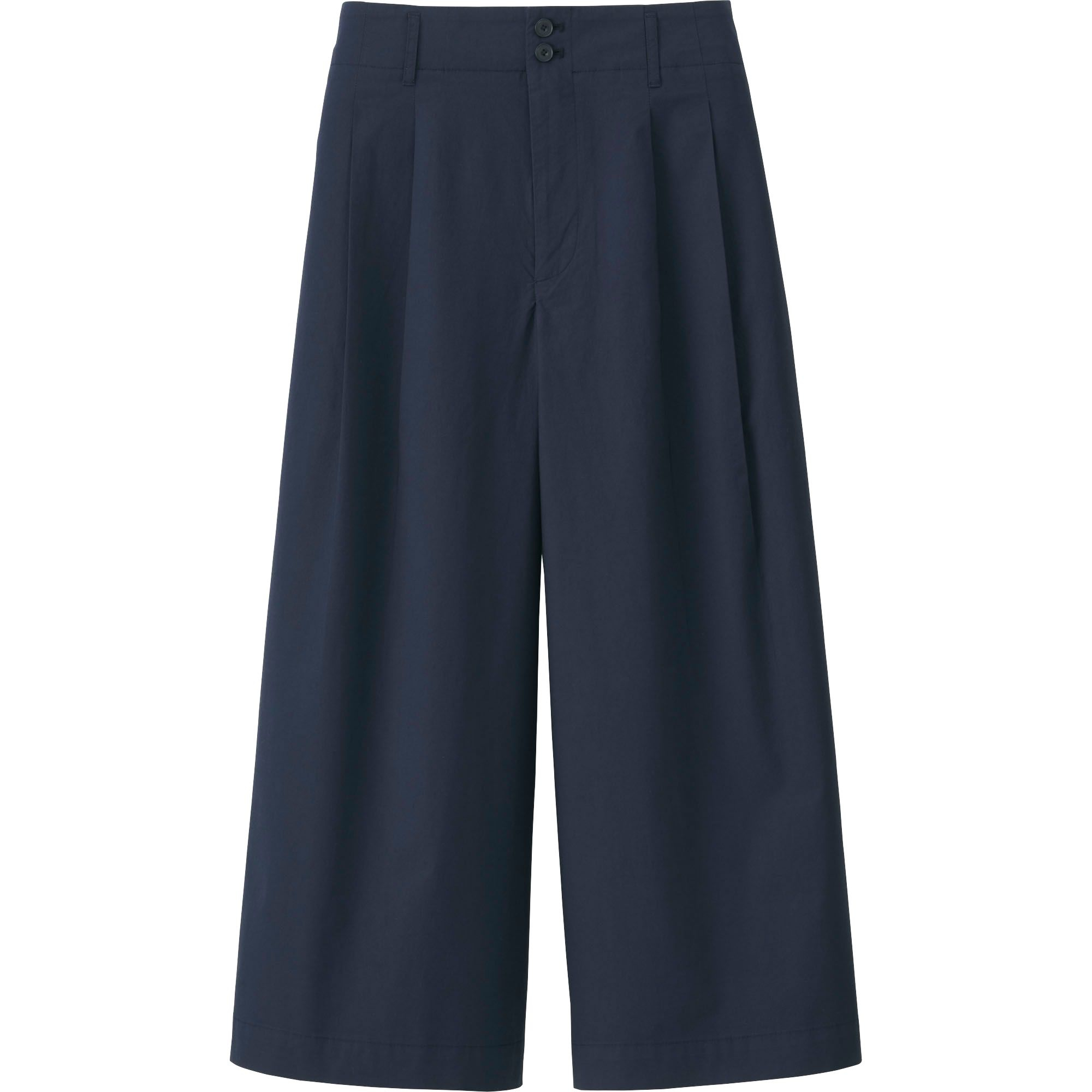 Original Uniqlo Women Denim Wide Leg Pants In Blue | Lyst