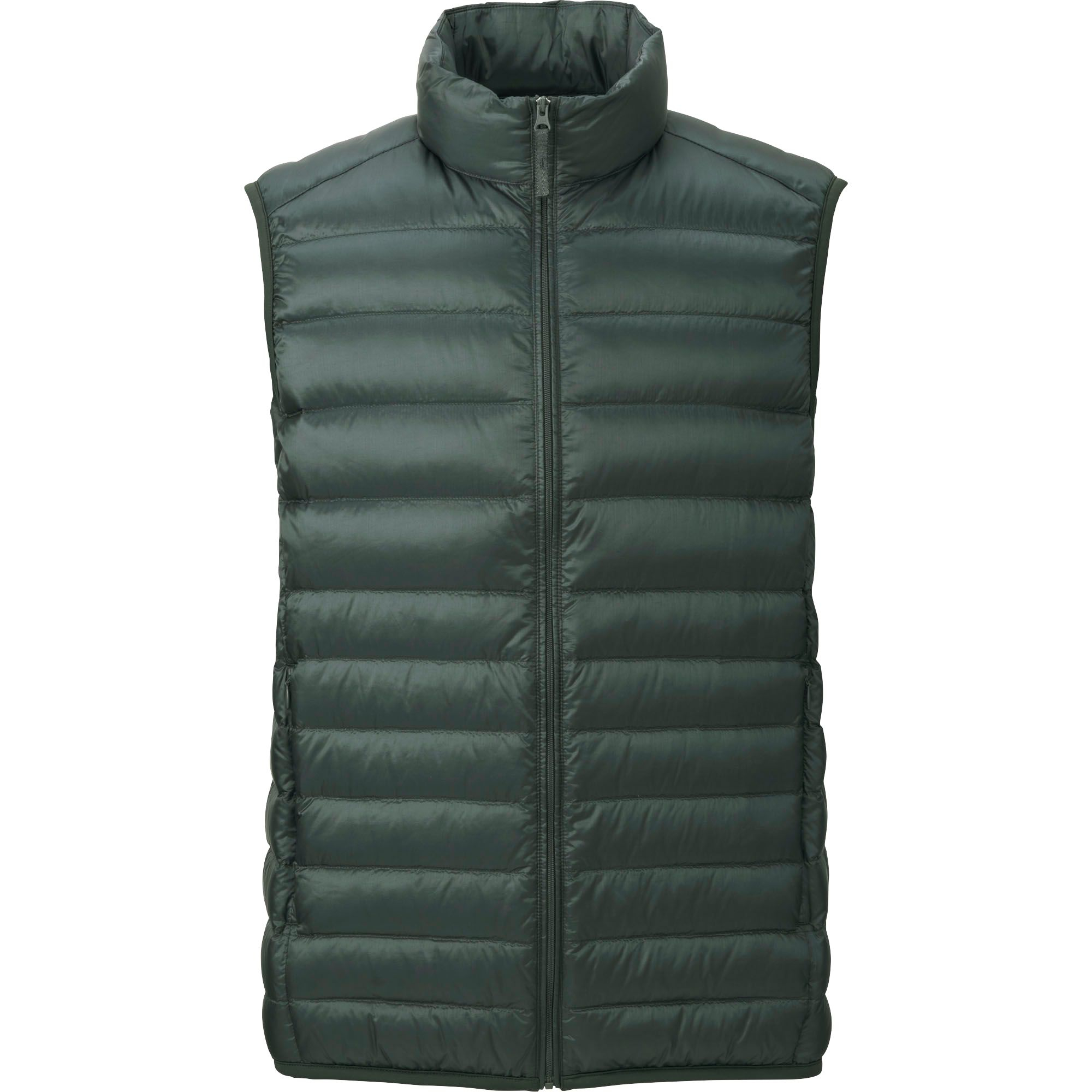 Uniqlo Men S Ultra Light Down Vest In Green For Men Olive