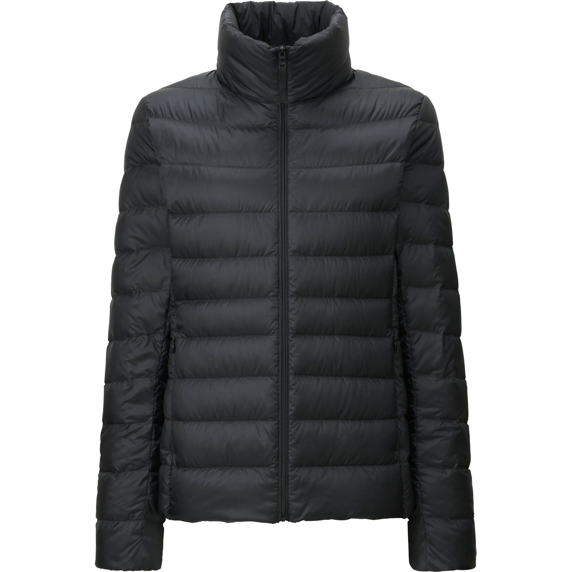 uniqlo women ultra light down jacket in black save 15 lyst. Black Bedroom Furniture Sets. Home Design Ideas