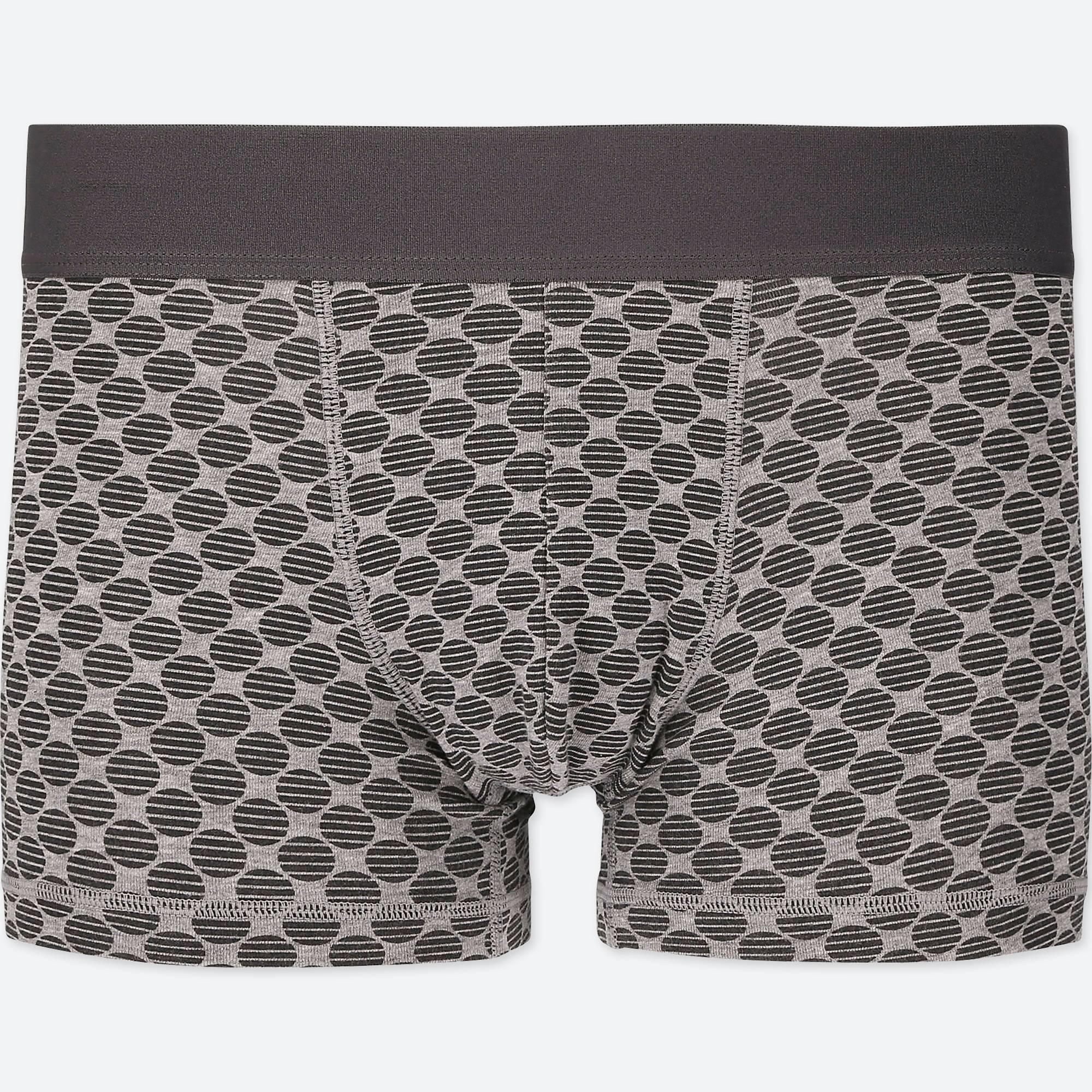 0bf2ee79c0a3 Lyst - Uniqlo Men Supima® Cotton Low-rise Boxer Briefs in Gray for Men