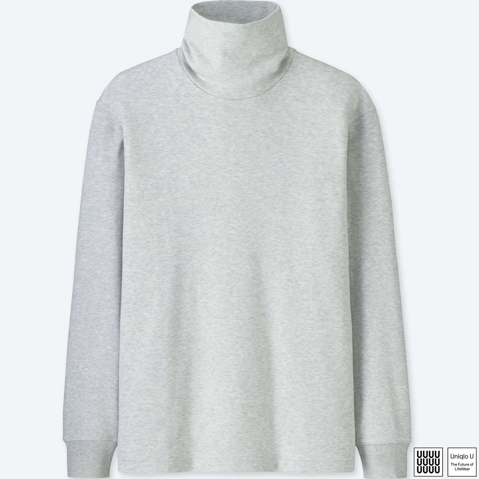 9ff96b5ac2 Lyst - Uniqlo Men U Double Face Turtleneck Long-sleeve T-shirt in ...
