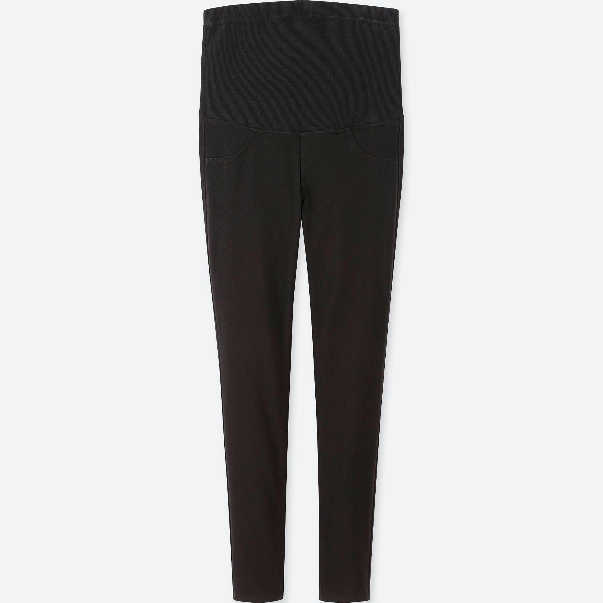 6d5f8d67e2a6c Lyst - Uniqlo Women Maternity LEGGINGS Pants in Black - Save 52%