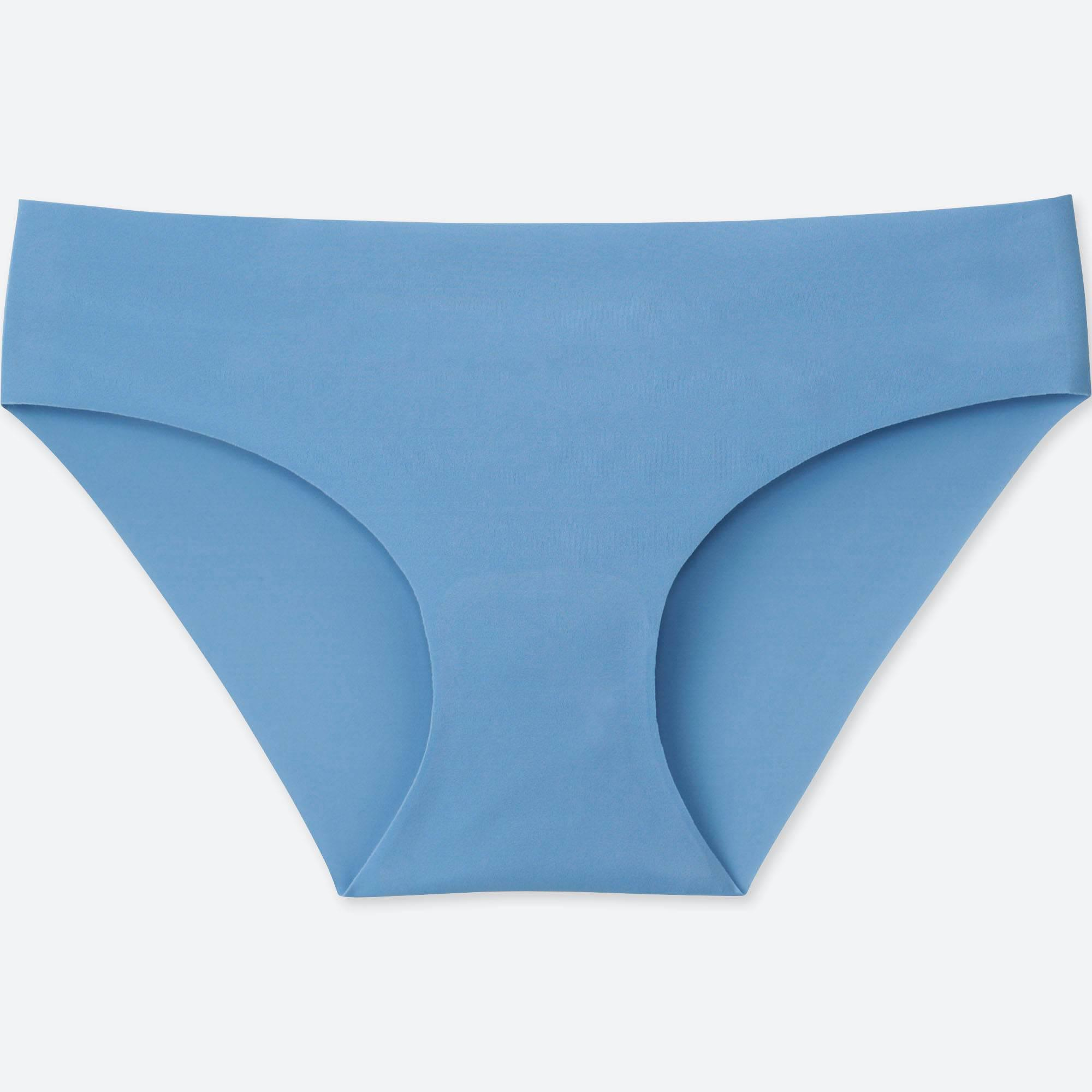 42c6bff16e Lyst - Uniqlo Women Airism Ultra Seamless Bikini Shorts in Blue